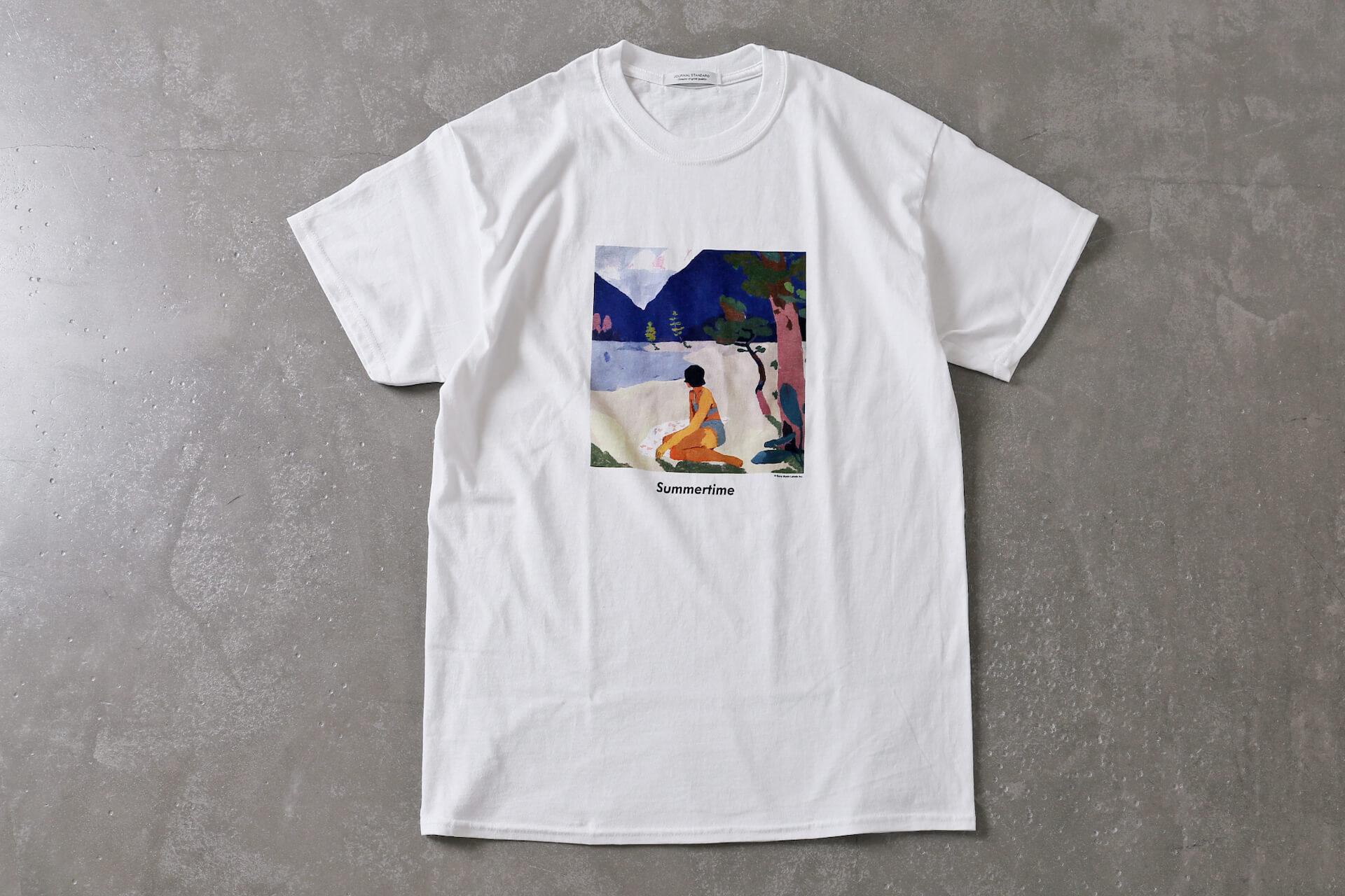 "RIRI, KEIJU, 小袋成彬による「アネッサ」CMソング""Summertime""とJOURNAL STANDARDがコラボ|限定Tシャツが予約販売スタート 190902lifefashion_summertimetshirts02"