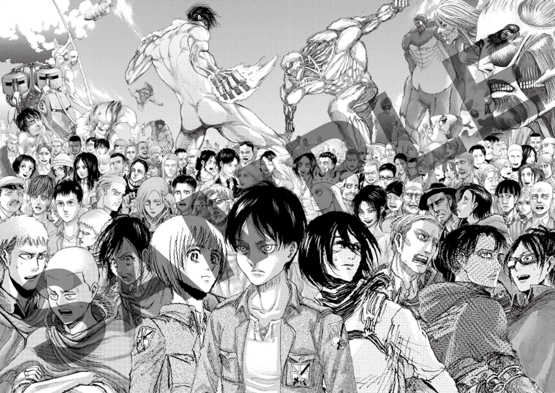 <進撃の巨人展FINAL>まもなく終了!『進撃の巨人』連載10周年記念祭が開催決定|10周年記念ビジュアルも公開 art190903_shingekinokyojin_10_main-1920x1360