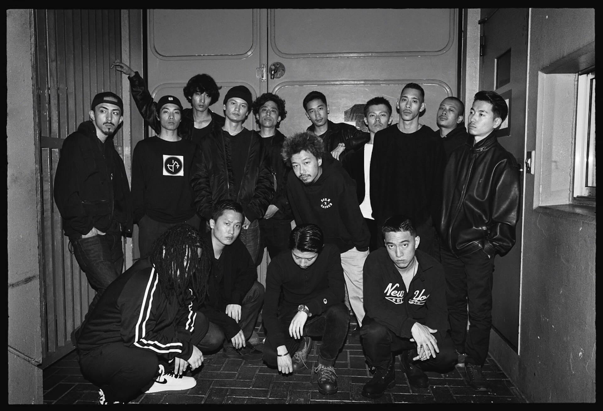 KANDYTOWN、セカンドアルバム『ADVISORY』リリースに伴いSPOT映像「SPOT ADVISORY」を公開 music190903-kandytown-1