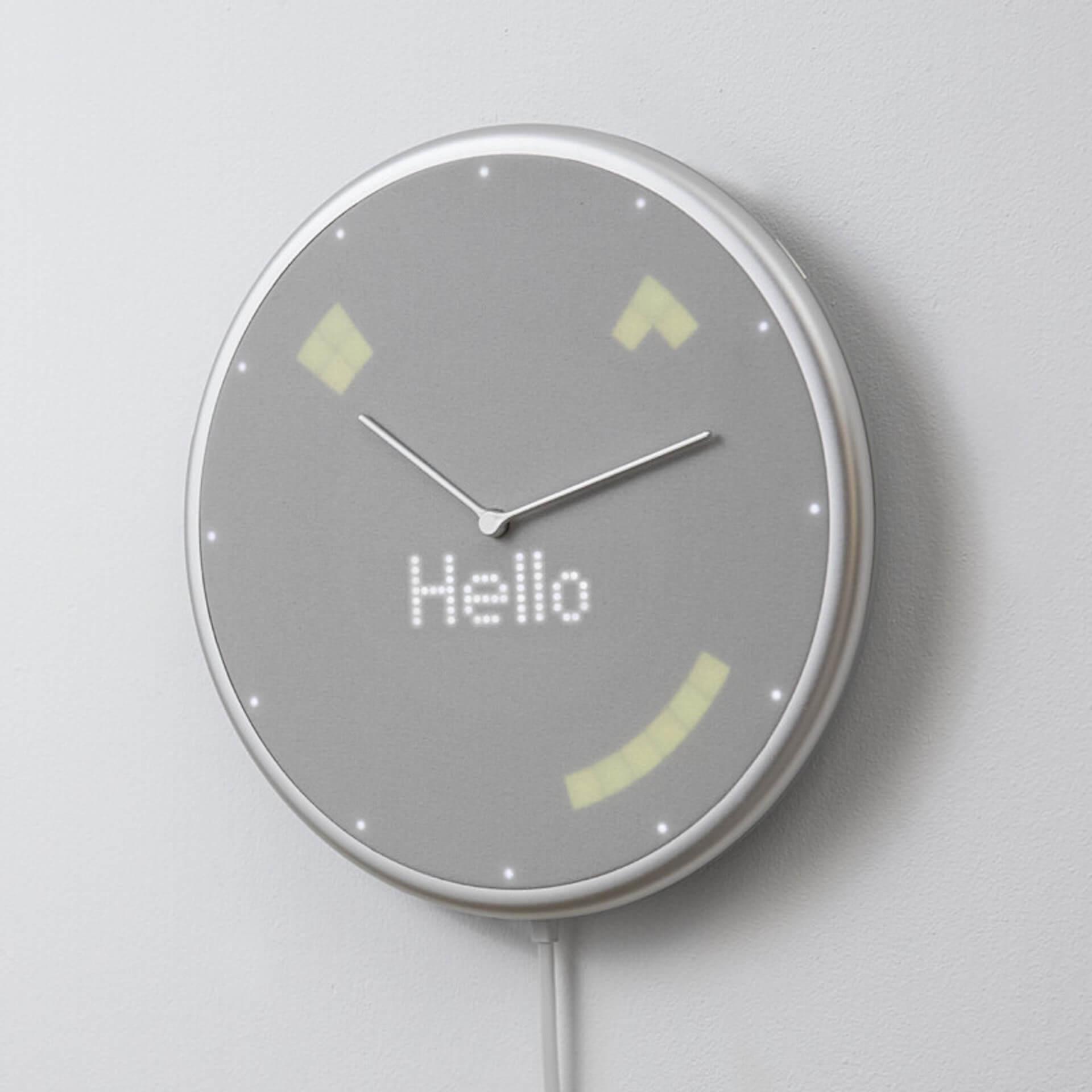 Google・Apple同期でスケジュール管理|忙しい日常をサポートするIoT掛け時計「Glance Clock」が登場 tech190904glanceclock_1