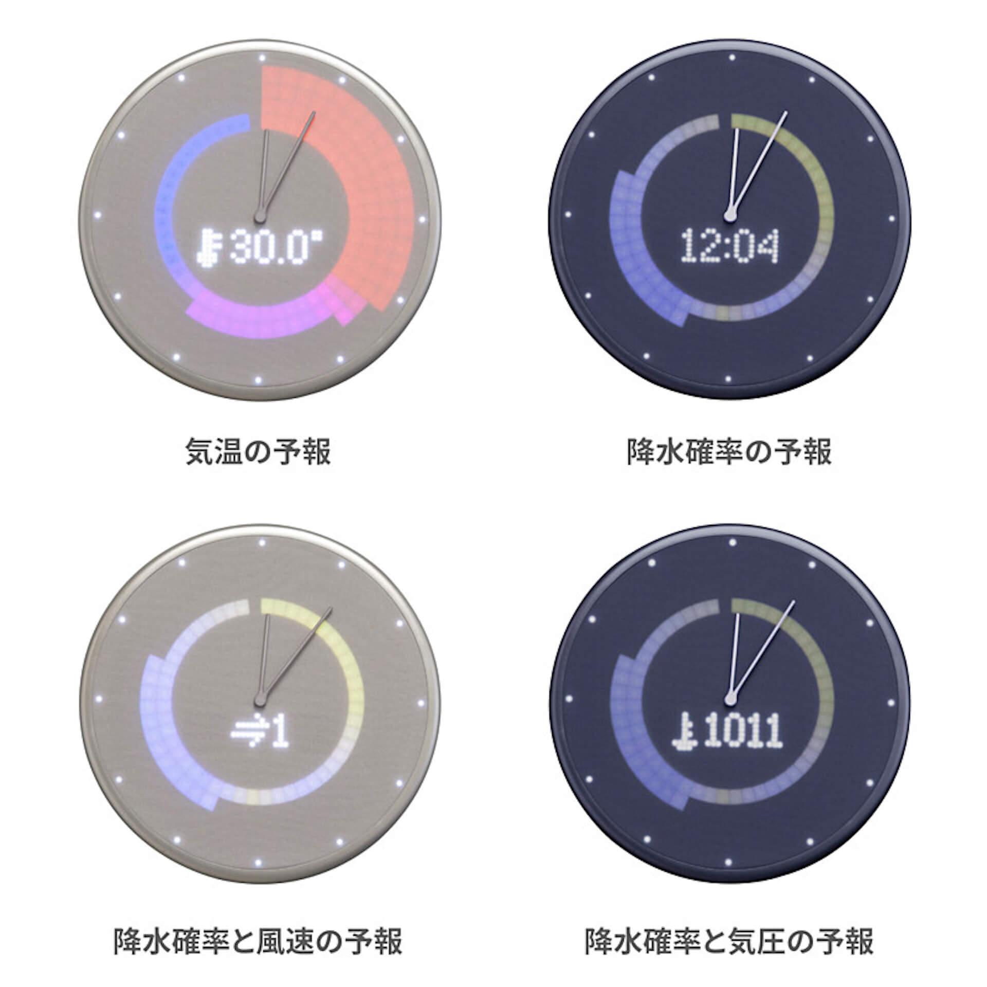 Google・Apple同期でスケジュール管理|忙しい日常をサポートするIoT掛け時計「Glance Clock」が登場 tech190904glanceclock_7
