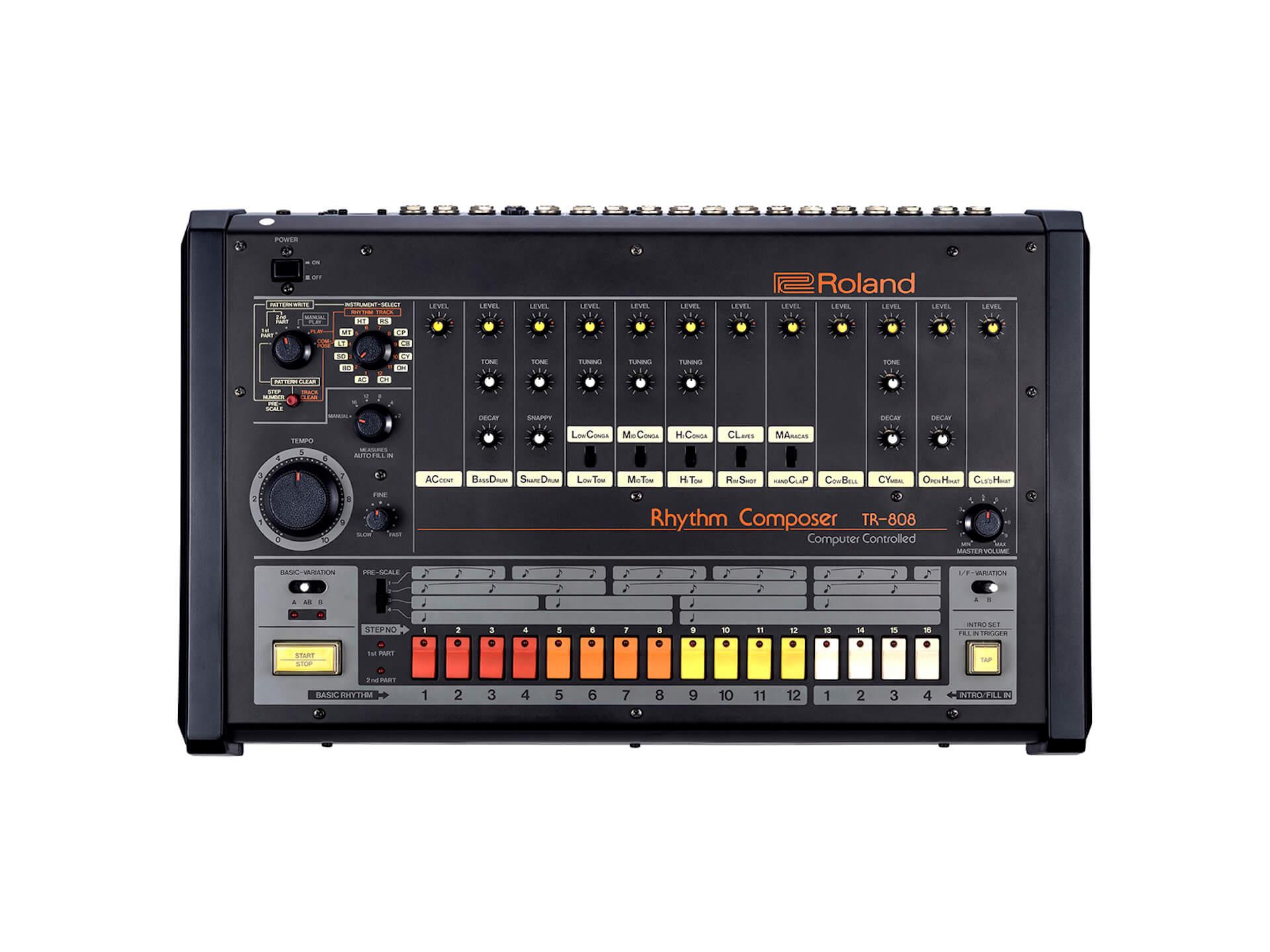 Rolandのリズムマシン『TR-808』が「重要科学技術史資料」に登録|電子楽器として史上初の快挙に art-culture190906-tr808-1