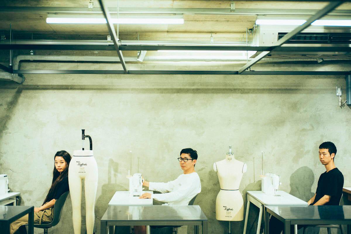 xiangyu × 半澤(PERMINUTE)× 神谷(テニスコート)対談|予測できない化学反応<香魚荘827>とは? interview190807_xiangyu_2588.jpg