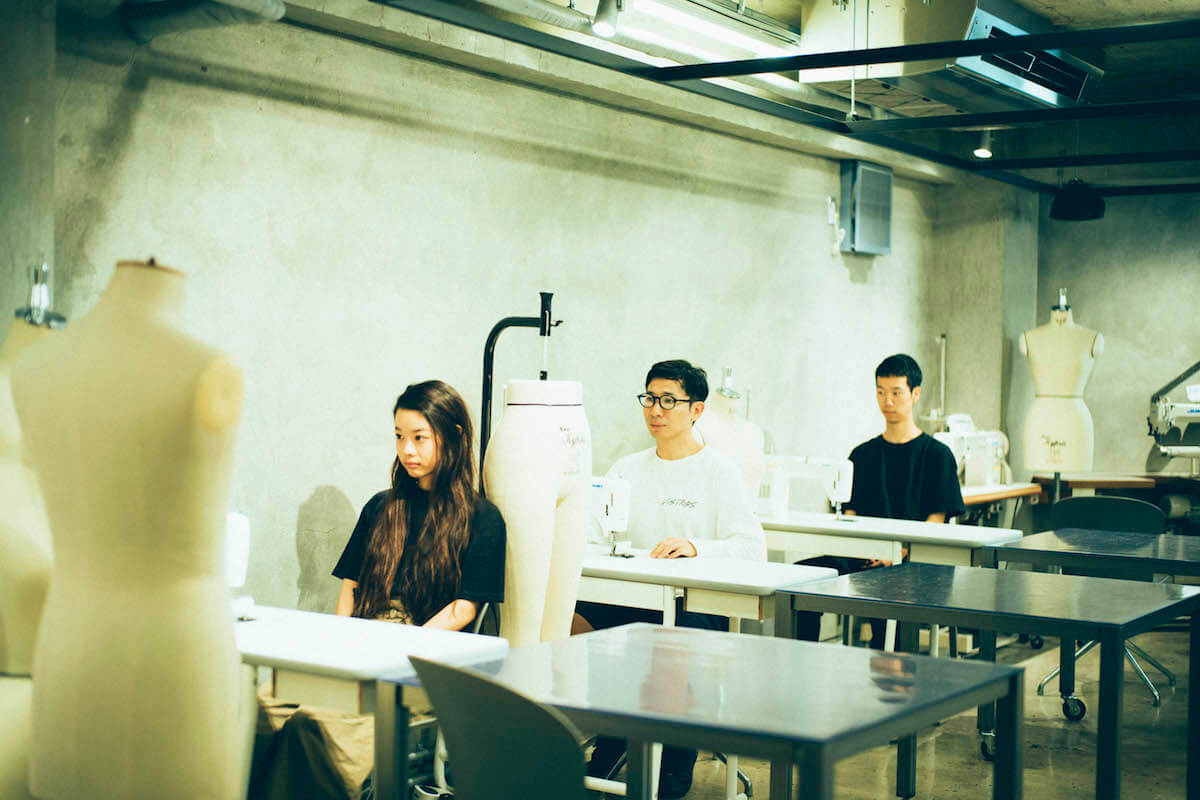 xiangyu × 半澤(PERMINUTE)× 神谷(テニスコート)対談|予測できない化学反応<香魚荘827>とは? interview190807_xiangyu_2589.jpg