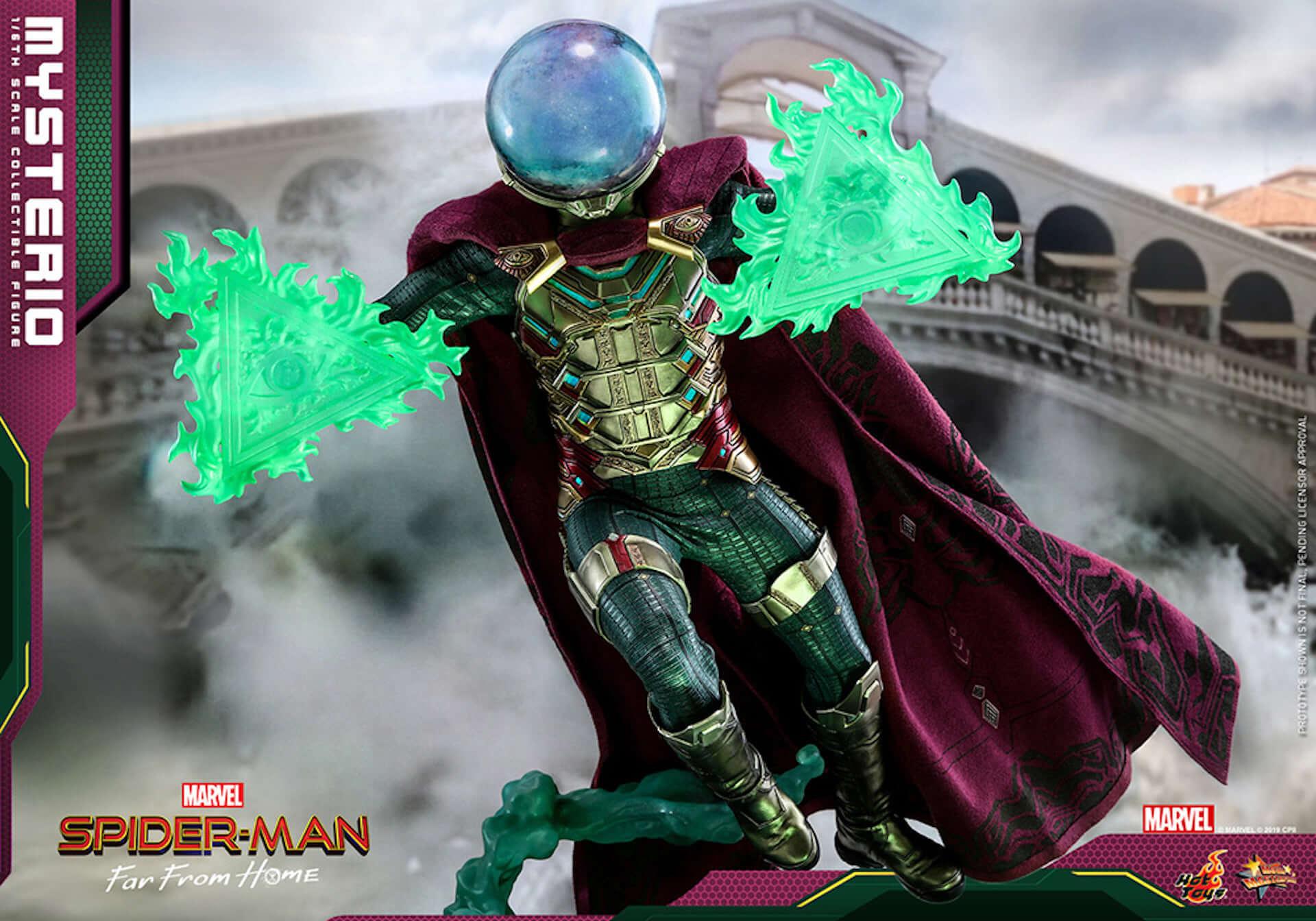 『スパイダーマン:ファー・フロム・ホーム』のミステリオが超リアルなフィギュアとして登場! art190911_sffh_mysterio_hottoys_3-1920x1344