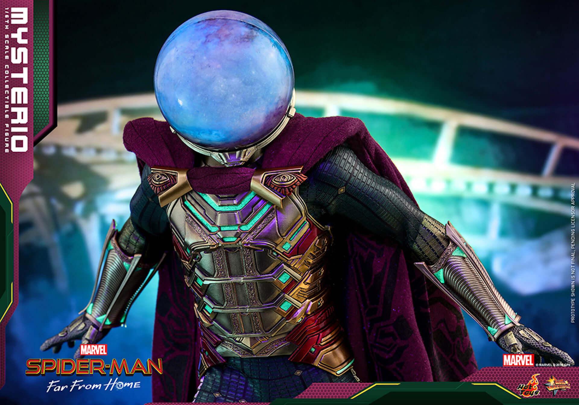 『スパイダーマン:ファー・フロム・ホーム』のミステリオが超リアルなフィギュアとして登場! art190911_sffh_mysterio_hottoys_5-1920x1344