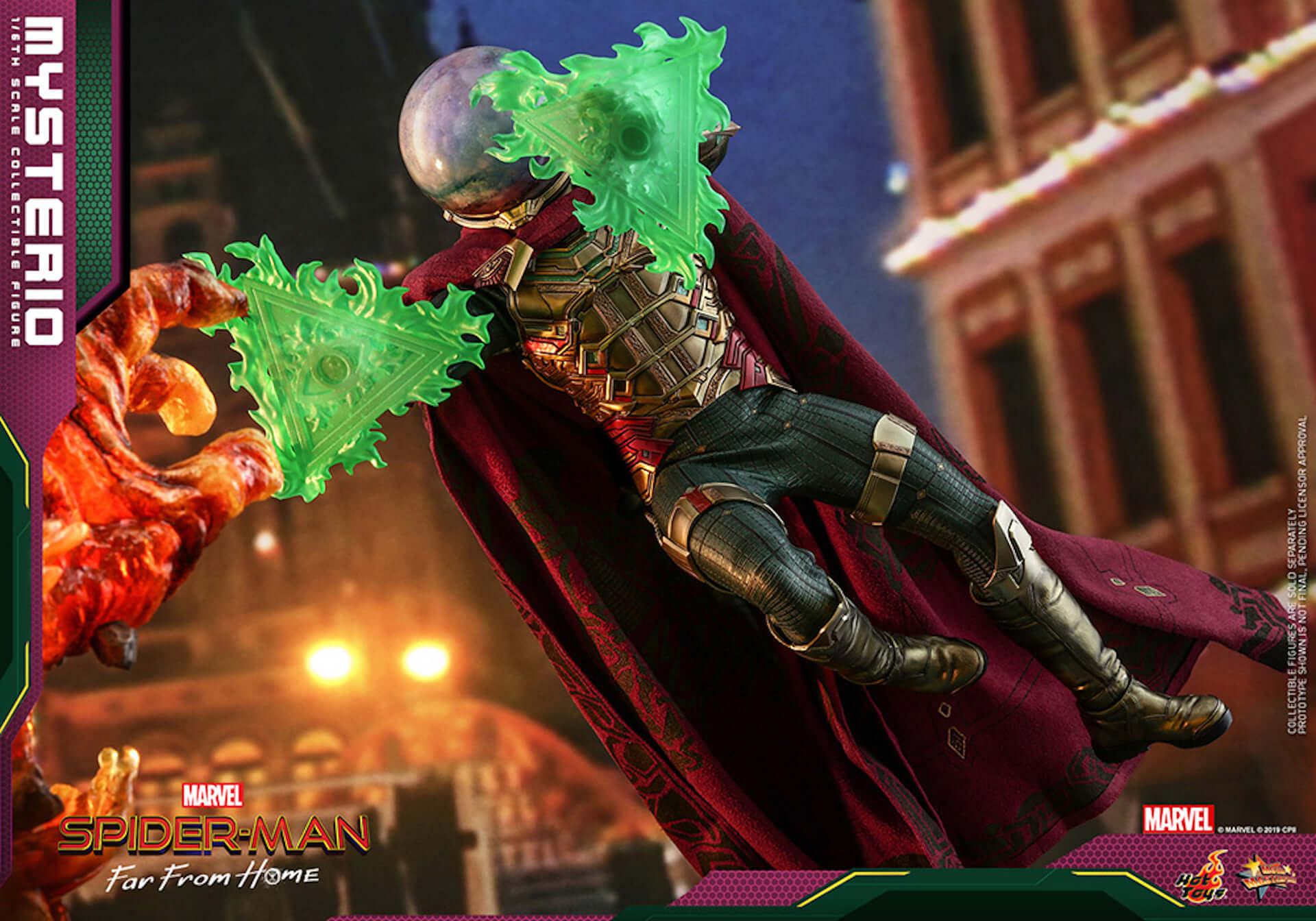 『スパイダーマン:ファー・フロム・ホーム』のミステリオが超リアルなフィギュアとして登場! art190911_sffh_mysterio_hottoys_4-1920x1344