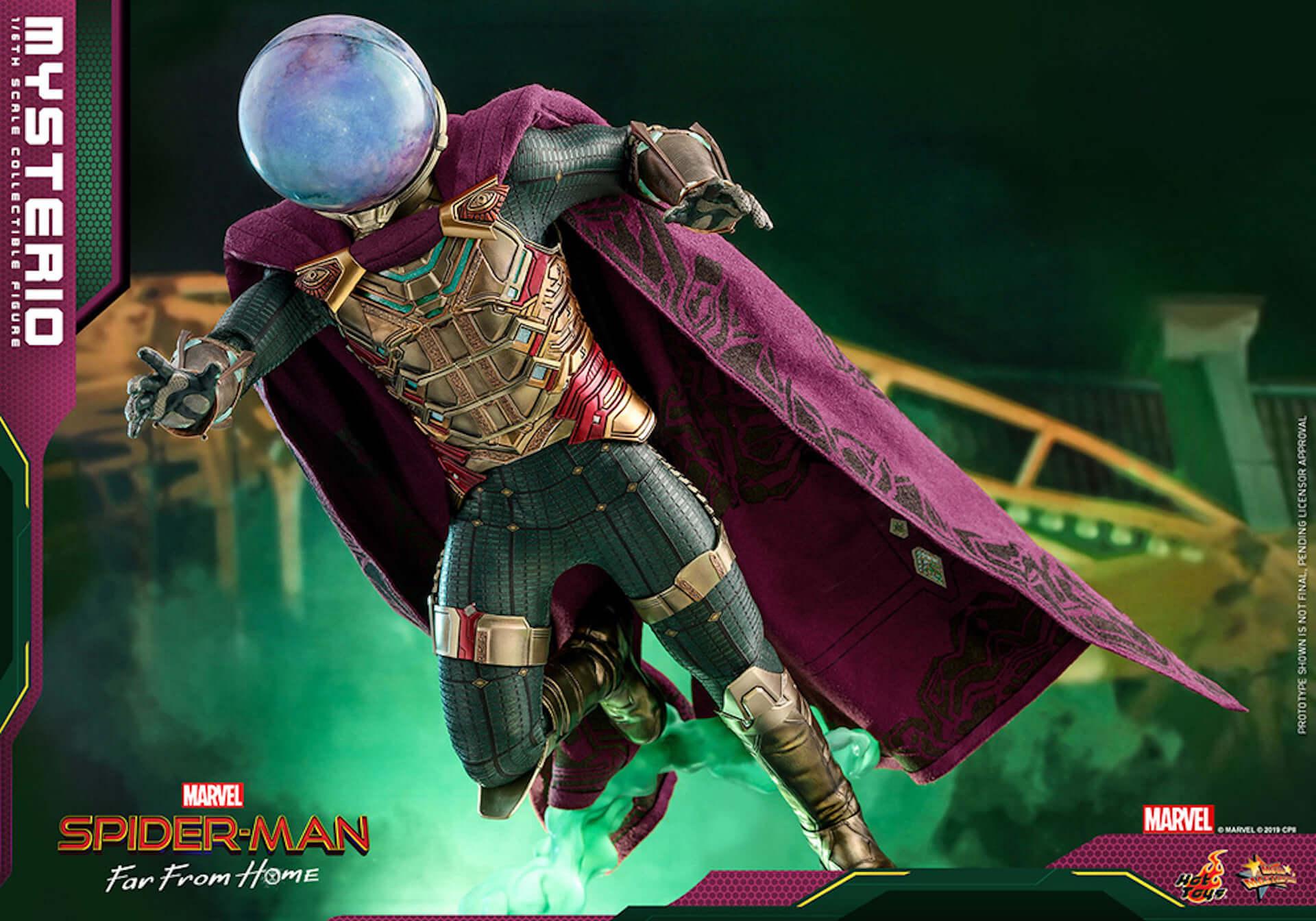 『スパイダーマン:ファー・フロム・ホーム』のミステリオが超リアルなフィギュアとして登場! art190911_sffh_mysterio_hottoys_main-1920x1344