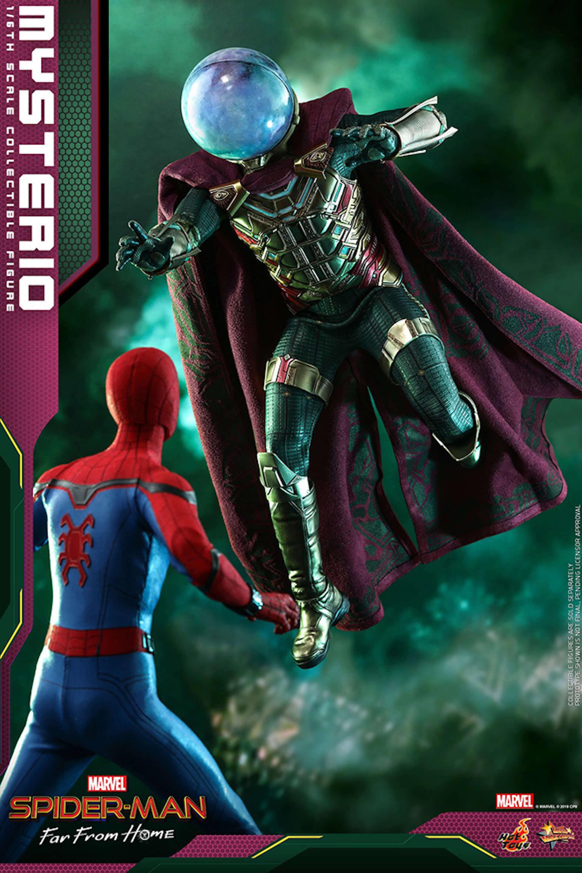 『スパイダーマン:ファー・フロム・ホーム』のミステリオが超リアルなフィギュアとして登場! art190911_sffh_mysterio_hottoys_2-1920x2879