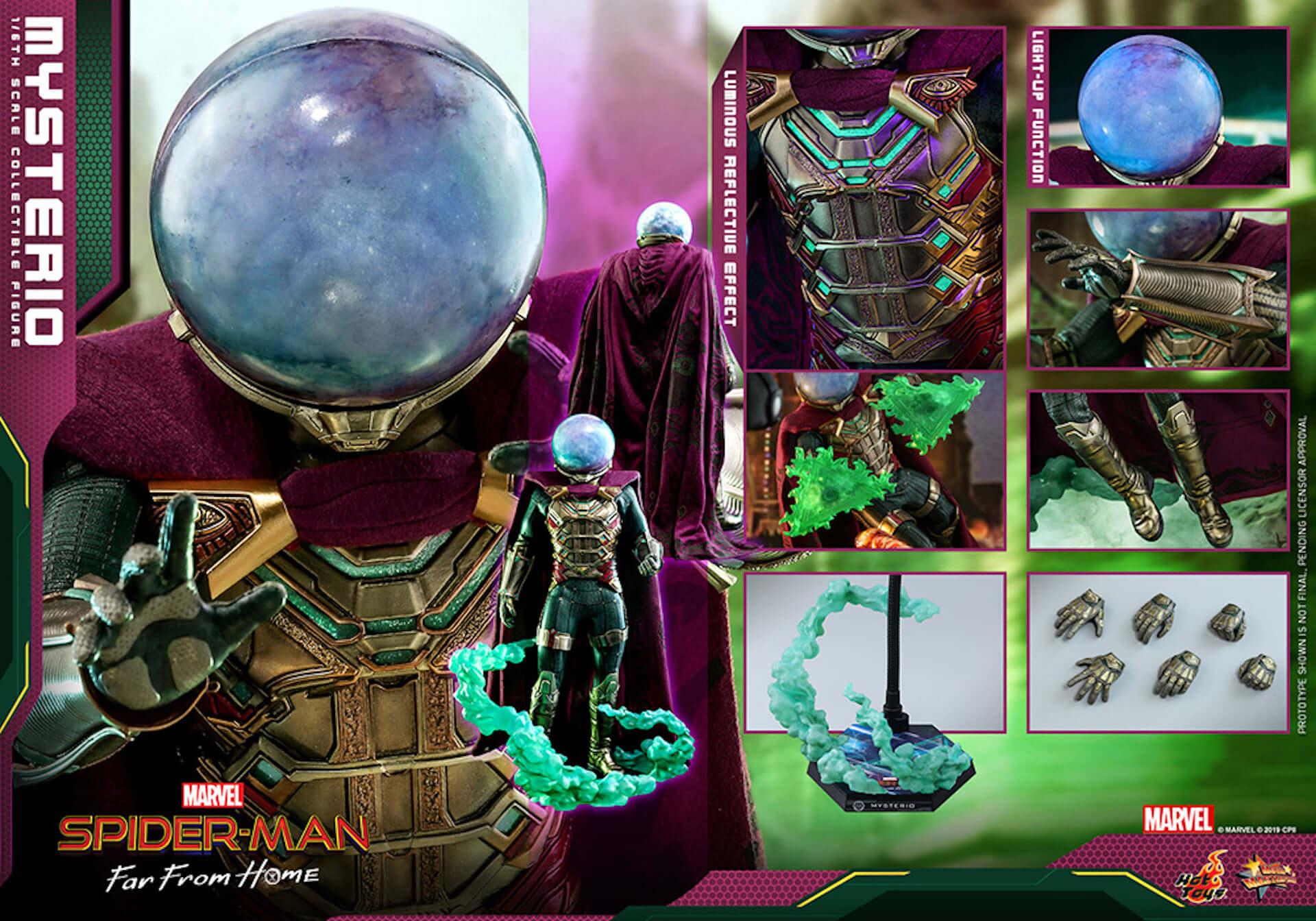 『スパイダーマン:ファー・フロム・ホーム』のミステリオが超リアルなフィギュアとして登場! art190911_sffh_mysterio_hottoys_1-1920x1344
