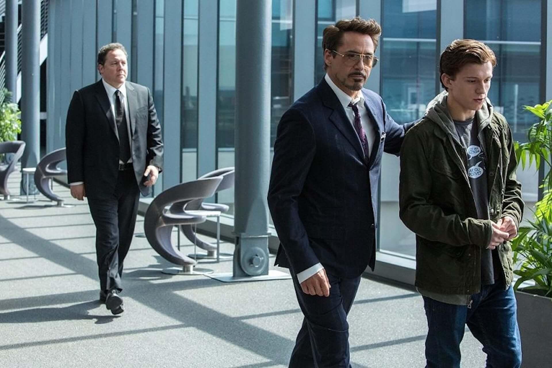 「スパイダーマン」トム・ホランドと「アイアンマン」ロバート・ダウニーJr.は私生活でも師弟関係だった? film190911_tomholland_robertdowneyjr_main-1920x1280