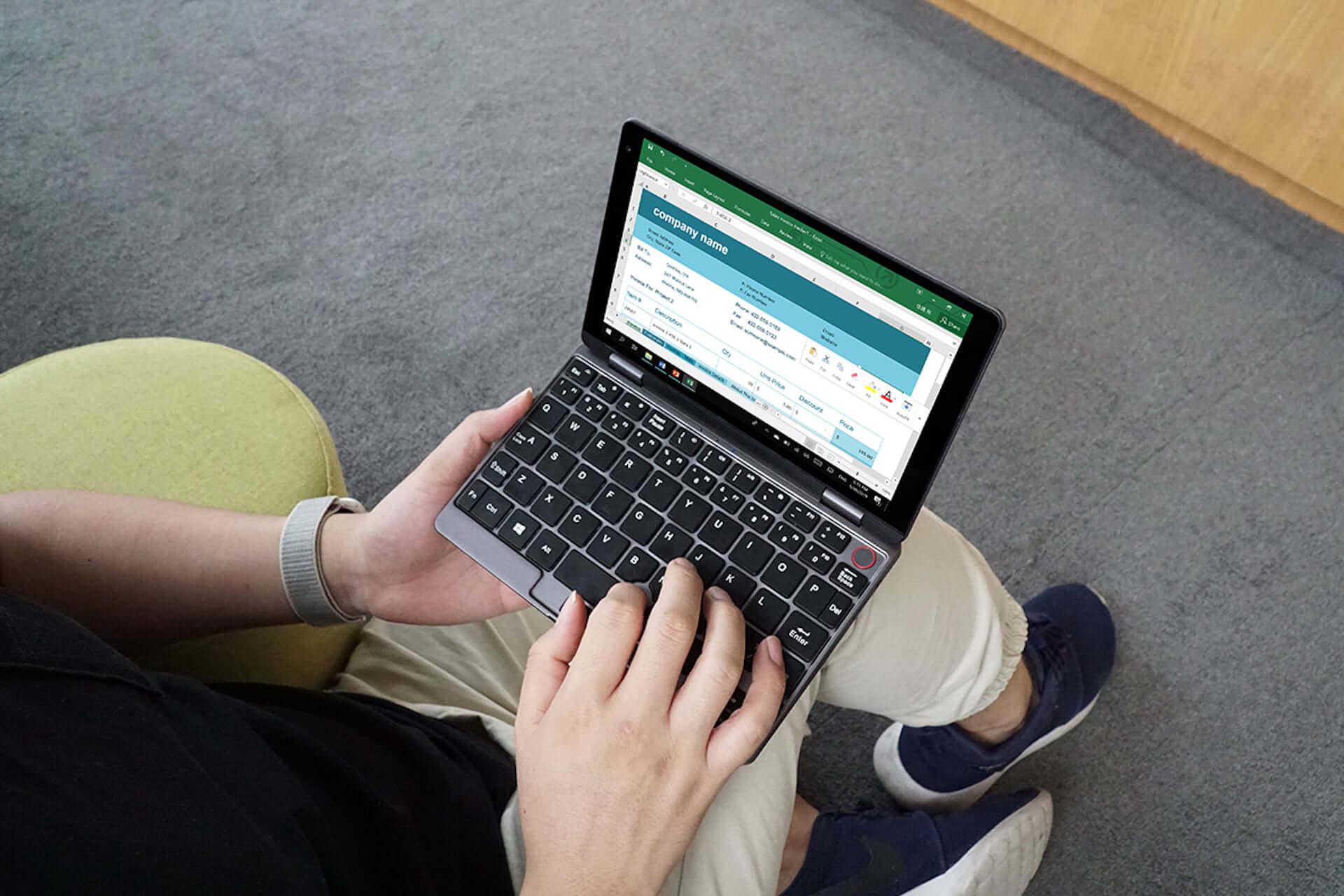 ポケットから出てくるのは手のひらサイズのPC!?クラウドファンディングにミニPC「MiniBook」登場 tech190912_minibook_1-1920x1280