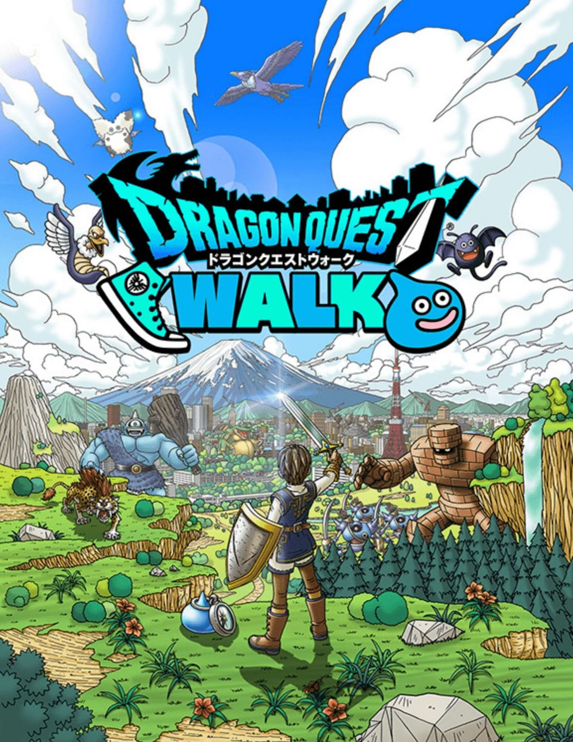 ドラゴンクエスト新アプリ『ドラゴンクエストウォーク』がついに本日リリース!SNSの反響は? #DQウォーク tech190912_dqwalk_1-1920x2486