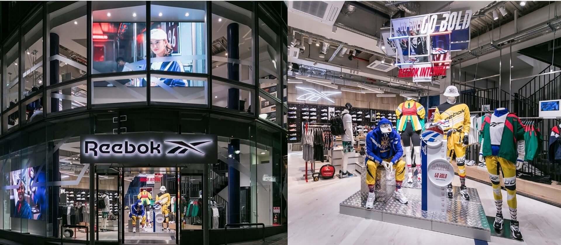 フィットネスとファッションを融合するReebok Store Shibuyaがオープン|スタイリングプロジェクト実施、限定アイテムも life190913_reebok_8-1920x839