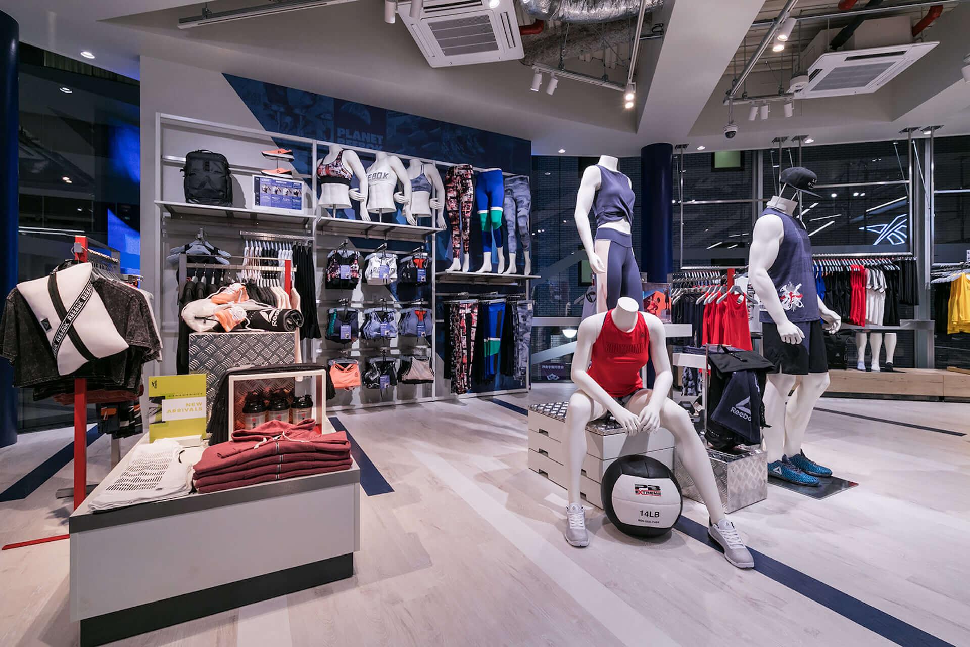 フィットネスとファッションを融合するReebok Store Shibuyaがオープン|スタイリングプロジェクト実施、限定アイテムも life190913_reebok_18-1920x1280
