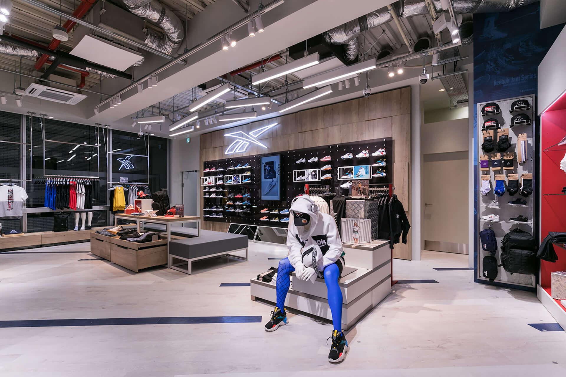 フィットネスとファッションを融合するReebok Store Shibuyaがオープン|スタイリングプロジェクト実施、限定アイテムも life190913_reebok_16-1920x1280