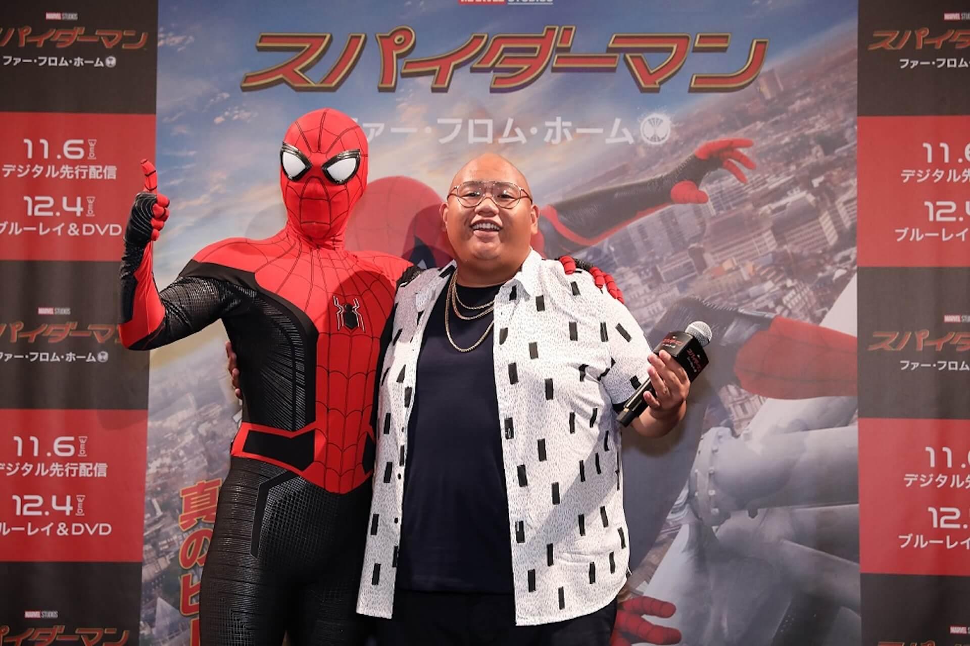「スパイダーマン」の親友、ジェイコブ・バタロンが初来日!宇垣美里と鏡開きでテンションMAX film190917_sffh_jacob_6