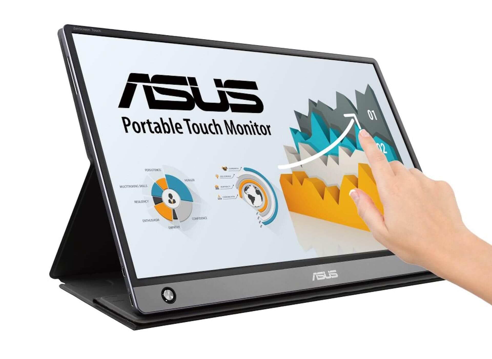 USB-C&micro HDMI端子搭載!わずか9mmの超薄型ディスプレイ2製品がASUSから登場 tech190918_asus_display_main