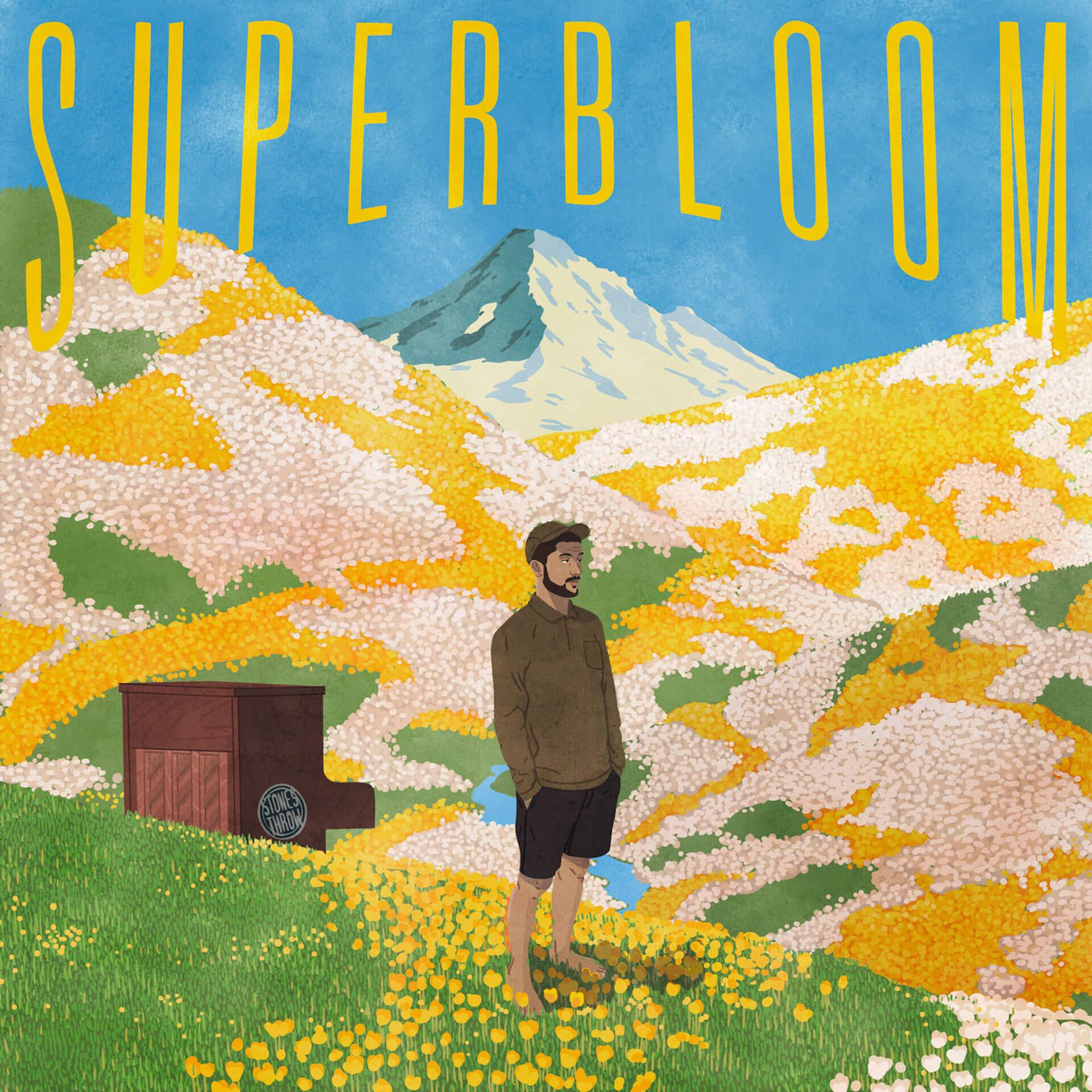 Kieferがニューアルバム『Superbloom』を〈Stones Throw〉からリリース|10月中旬から初来日ツアーで朝霧JAMなどに出演 music190919-kiefer-3