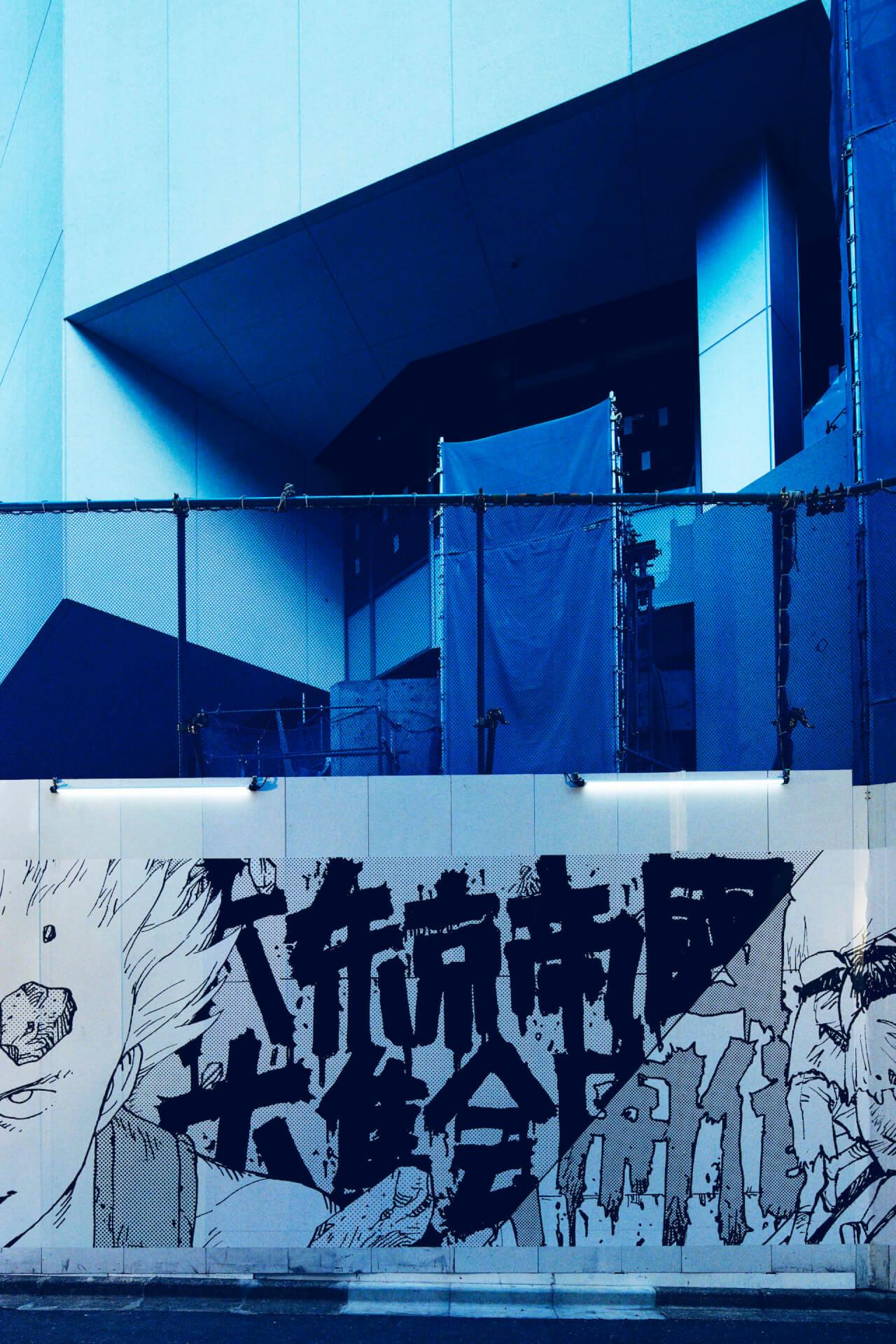 <AKIRA ART OF WALL>、PARCO MUSEUM TOKYO&GALLERY Xオープン記念エキシビジョンとして開催決定 art190919_akira_artofwall_4