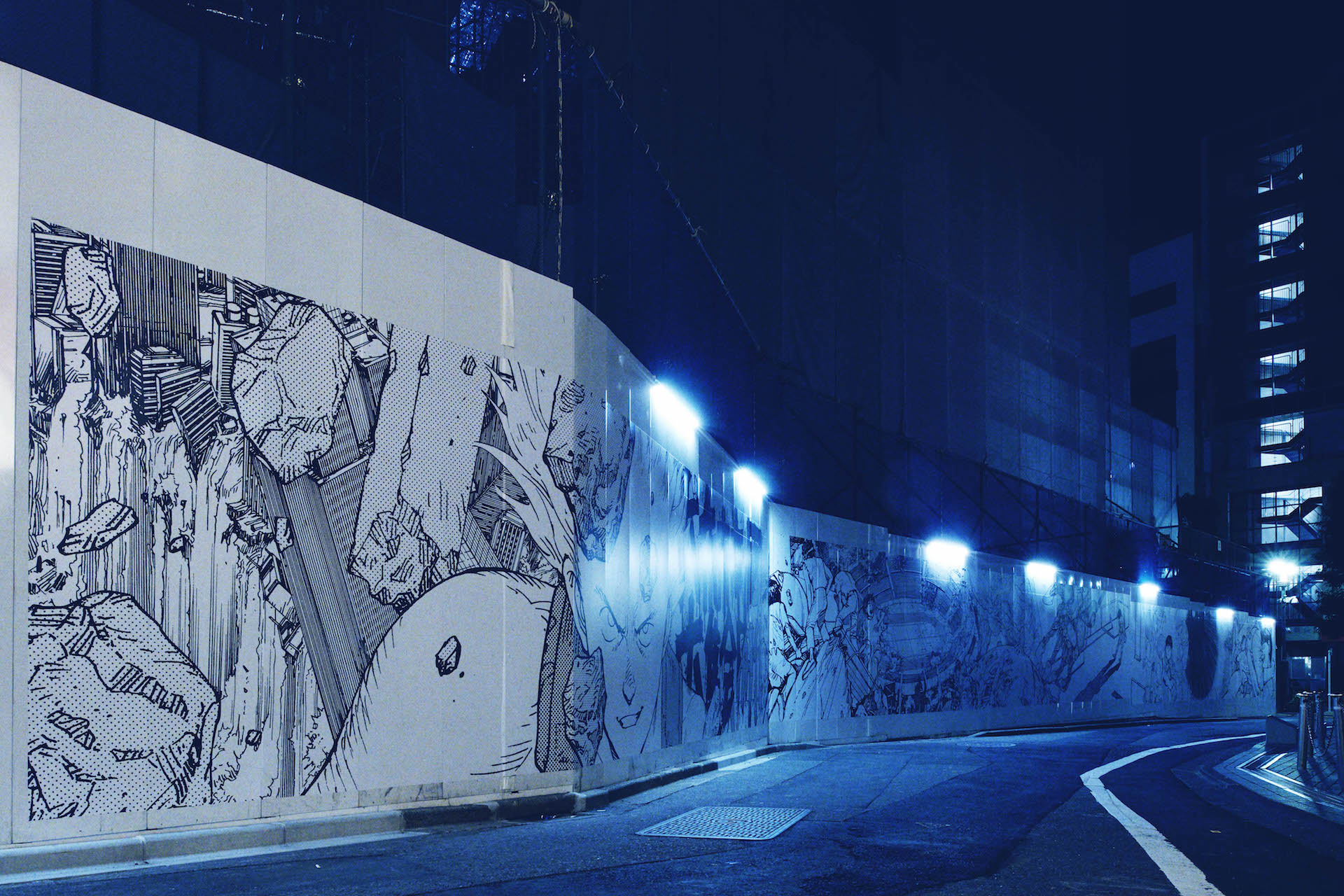 <AKIRA ART OF WALL>、PARCO MUSEUM TOKYO&GALLERY Xオープン記念エキシビジョンとして開催決定 art190919_akira_artofwall_2