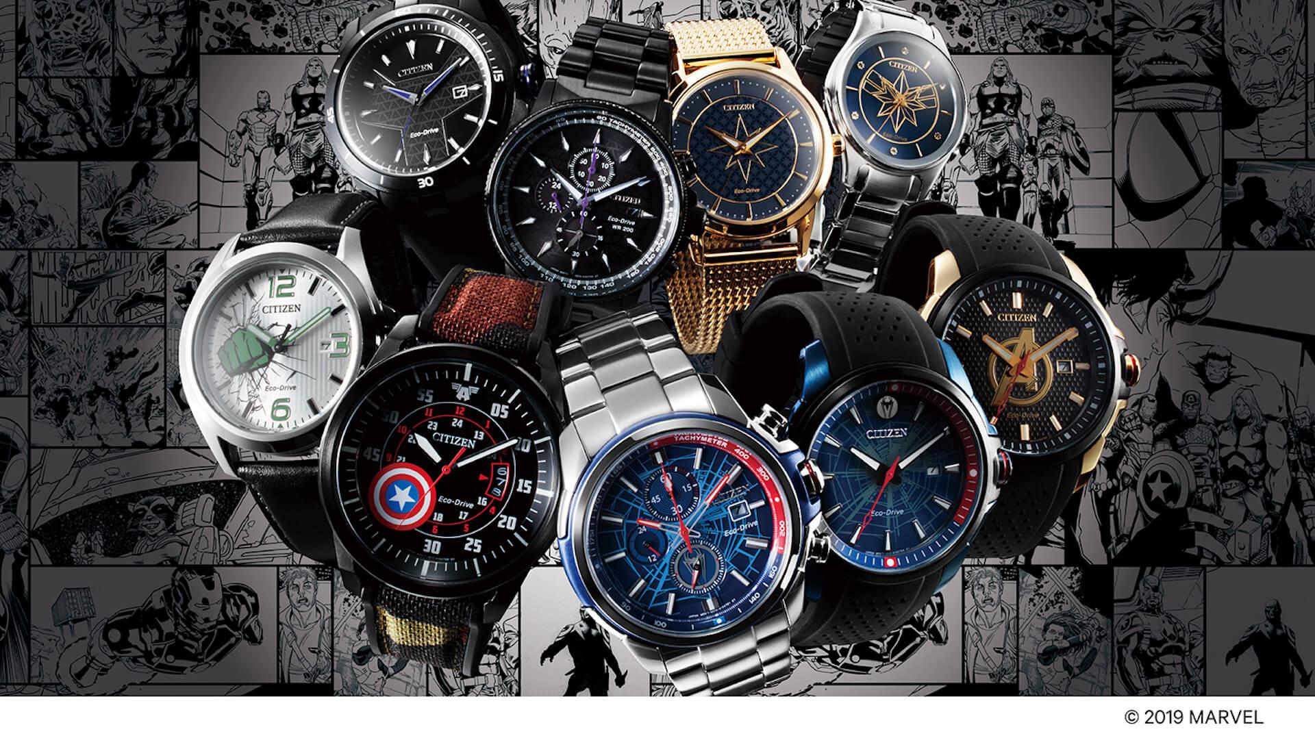 「スパイダーマン」や「キャプテン・アメリカ」が腕時計に!マーベルキャラクターをモチーフにしたシチズン腕時計全9モデルが登場 tech190919_marvel_watch_19