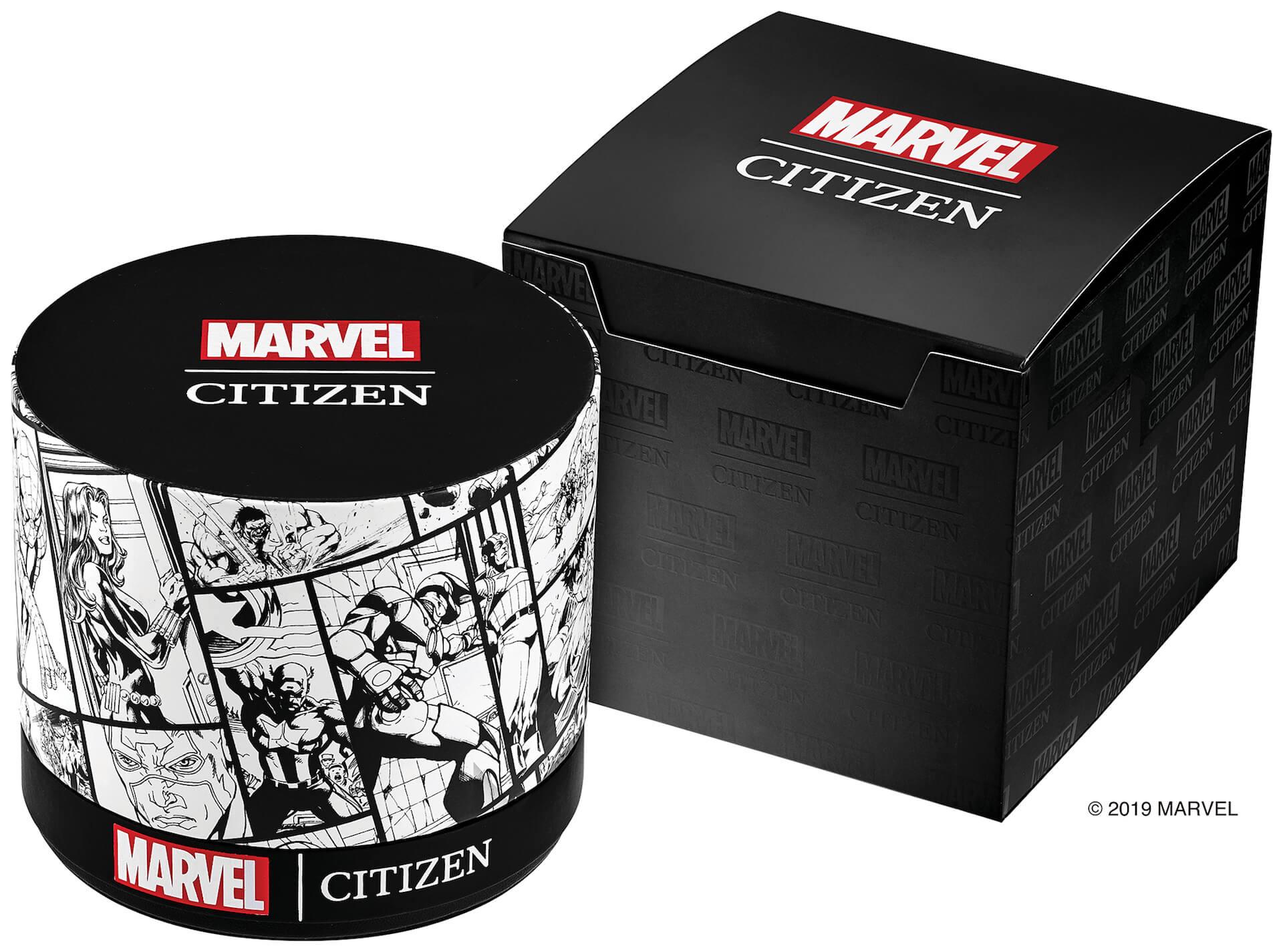 「スパイダーマン」や「キャプテン・アメリカ」が腕時計に!マーベルキャラクターをモチーフにしたシチズン腕時計全9モデルが登場 tech190919_marvel_watch_17