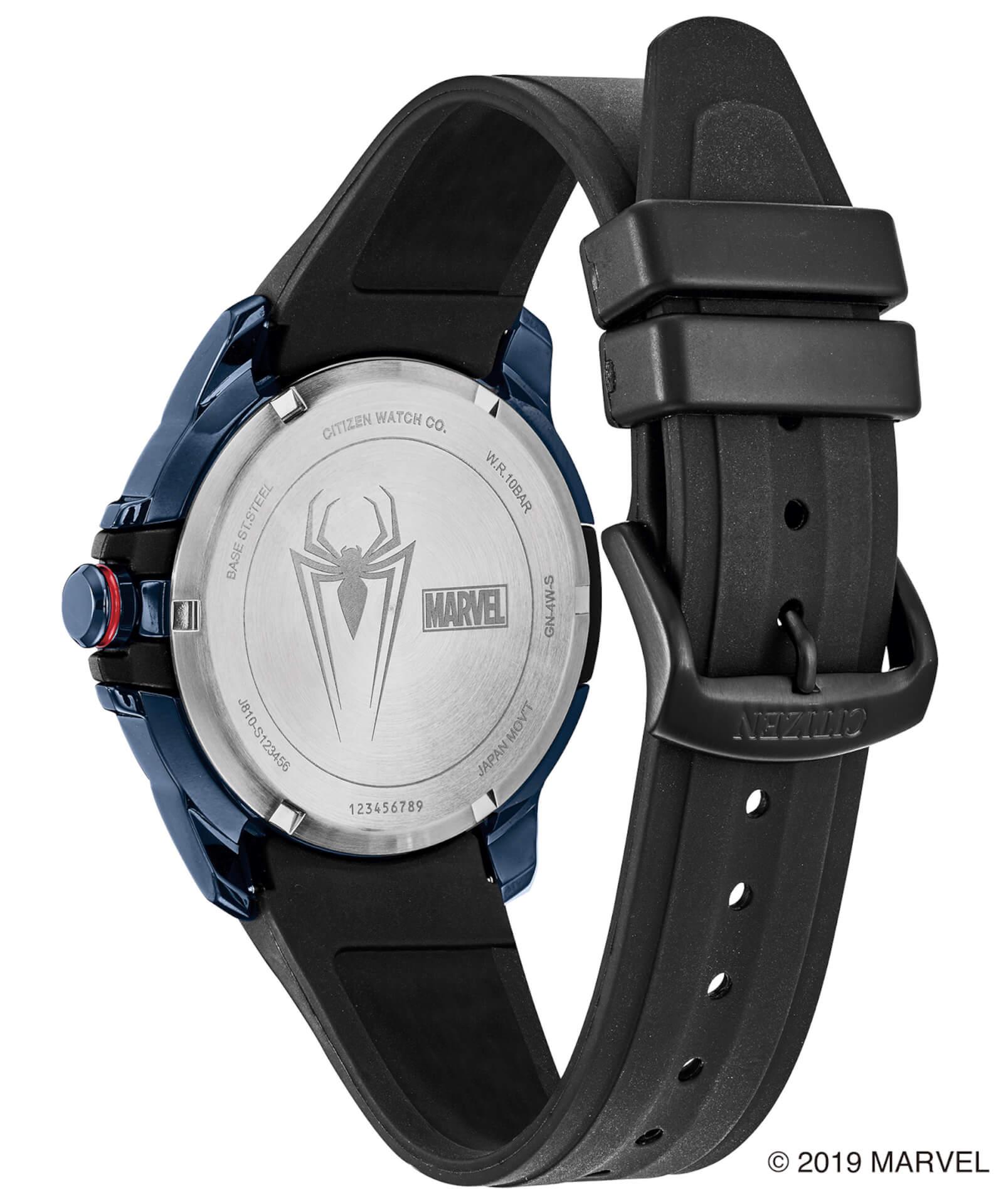 「スパイダーマン」や「キャプテン・アメリカ」が腕時計に!マーベルキャラクターをモチーフにしたシチズン腕時計全9モデルが登場 tech190919_marvel_watch_16