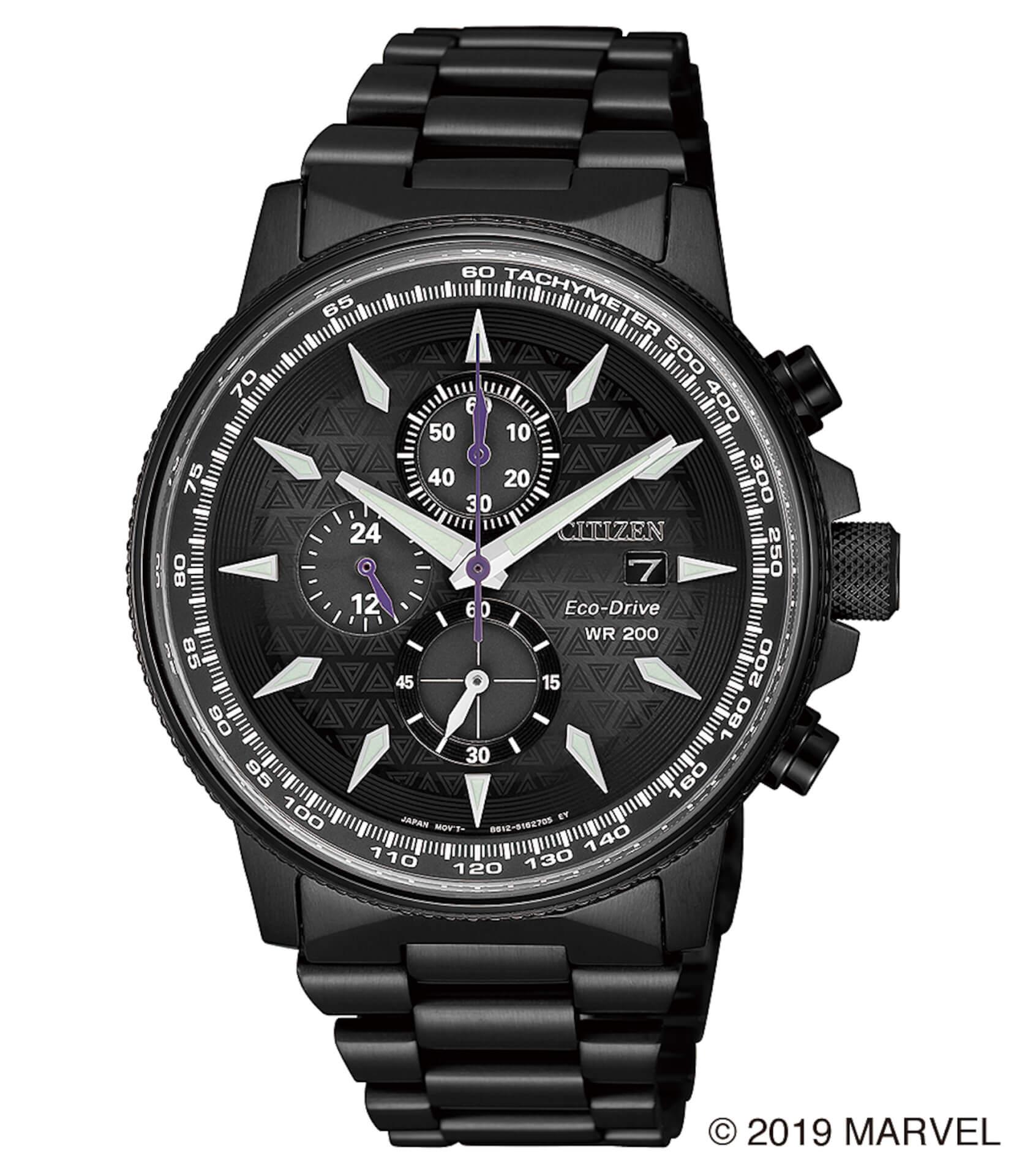 「スパイダーマン」や「キャプテン・アメリカ」が腕時計に!マーベルキャラクターをモチーフにしたシチズン腕時計全9モデルが登場 tech190919_marvel_watch_14