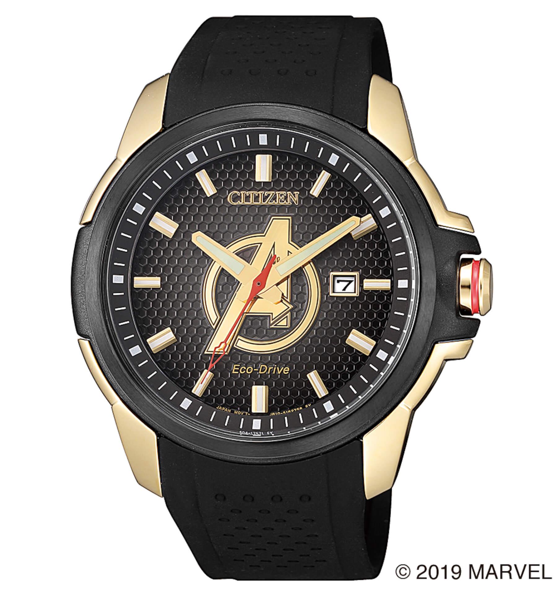 「スパイダーマン」や「キャプテン・アメリカ」が腕時計に!マーベルキャラクターをモチーフにしたシチズン腕時計全9モデルが登場 tech190919_marvel_watch_13