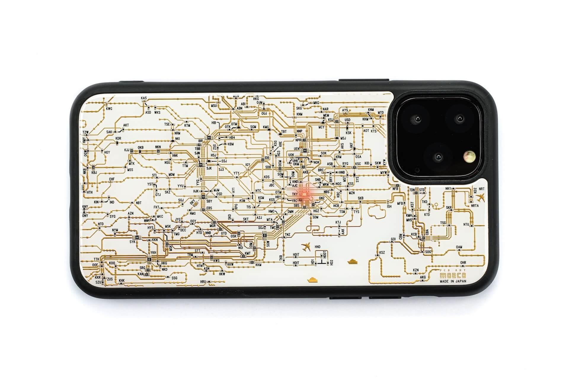 本物の電子回路が組み込まれたiPhone 11用ケース!|電波のみでLEDが光るギミックも搭載 tech190920_flash_3