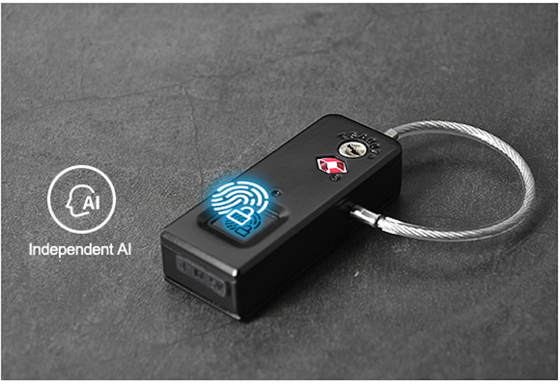 世界中で大反響の指紋で開けられるスマートロック「TRAVELOCK 2」がクラウドファンディングサイトに登場! tech190920_travellock2_main