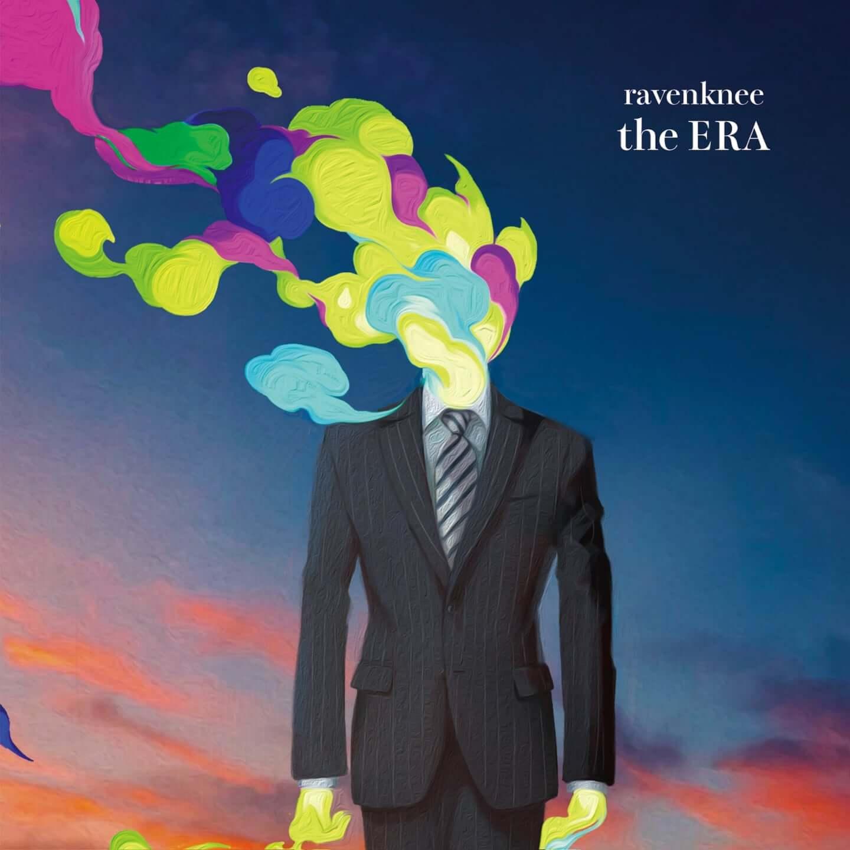 ravenknee、初のフルアルバム『the ERA』のジャケットビジュアルとティザー映像が公開 ravenknee_the-ERA_JKT-1440x1440