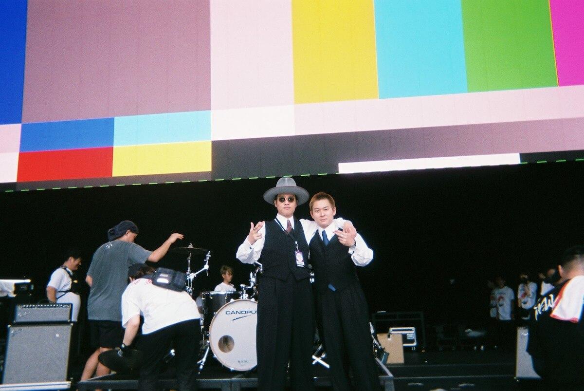 フェスレポート|SANABAGUN.が切り取る<FUJI ROCK FESTIVAL'19> music190822_sanabagunFRF19_12.jpg