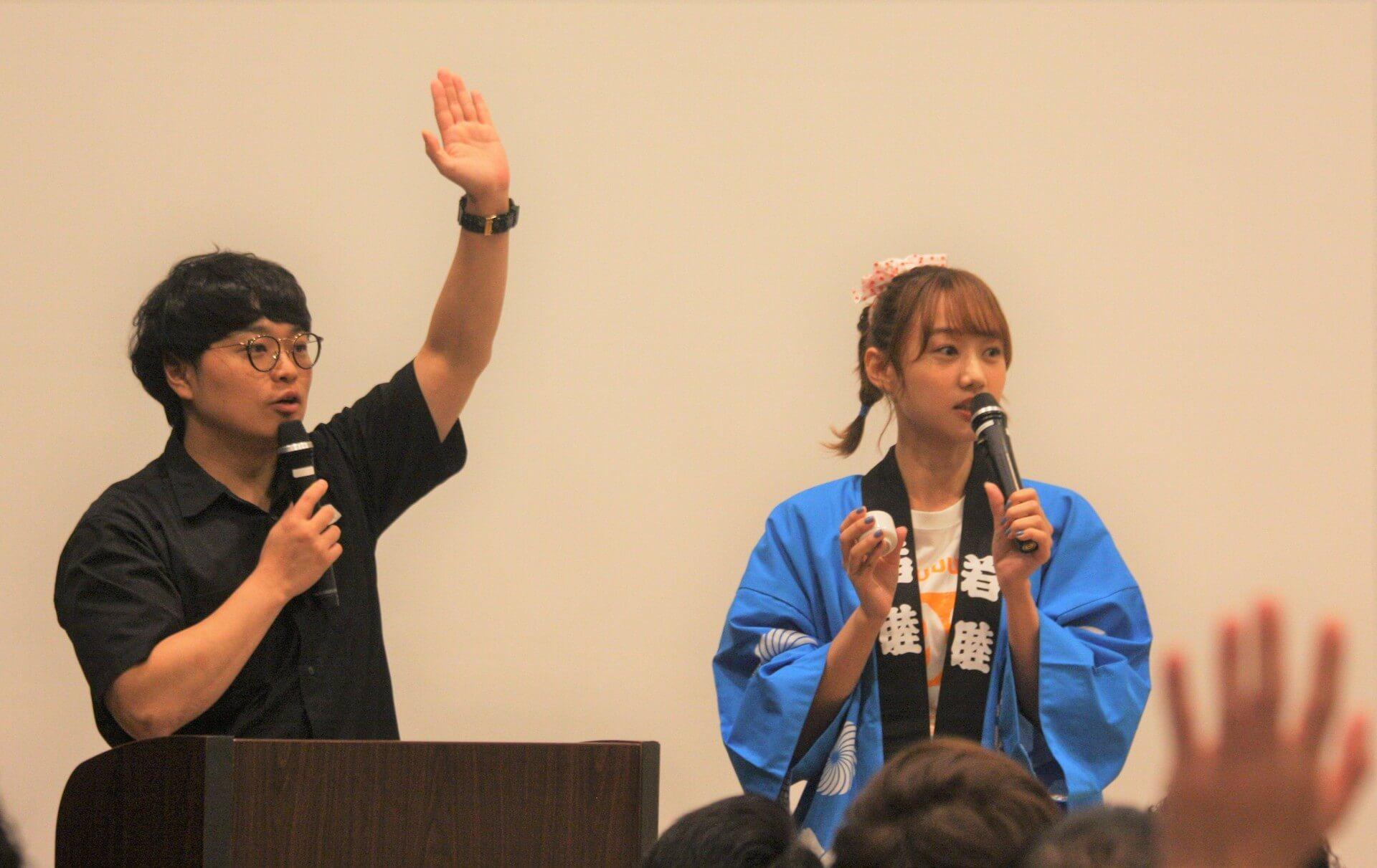 高田秋、初の単独イベントで日本酒がぶ飲み! lf190924takada-shu_2