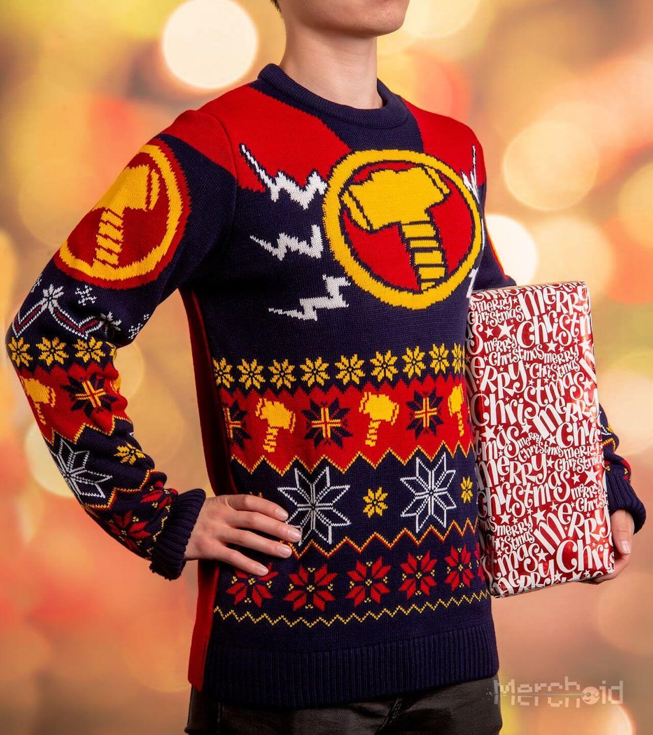 「ダサいセーター」コレクションにアイアンマン、ブラックパンサーなどマーベルヒーローたちが登場 life-fashion190924-marvel-ugly-sweater-3
