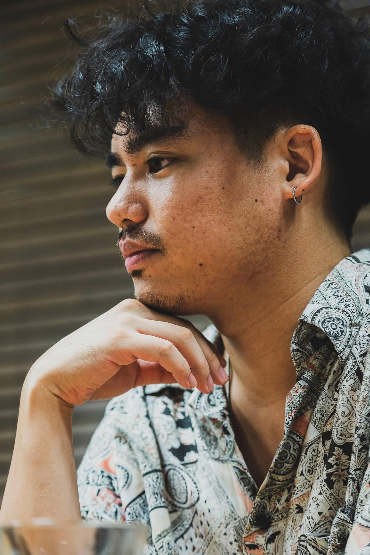 The fin.インタビュー|Yuto Uchinoが作る、世界中の人たちとシェアすることができる音楽 interview190827_thefin2427