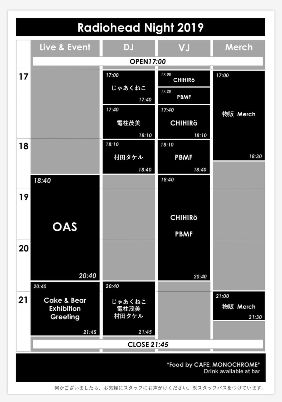 Radioheadトリビュートバンド・OASによる本家公認ファンイベントが渋谷で開催|Radioheadファン悶絶の直筆メッセージなども展示 S__62046278