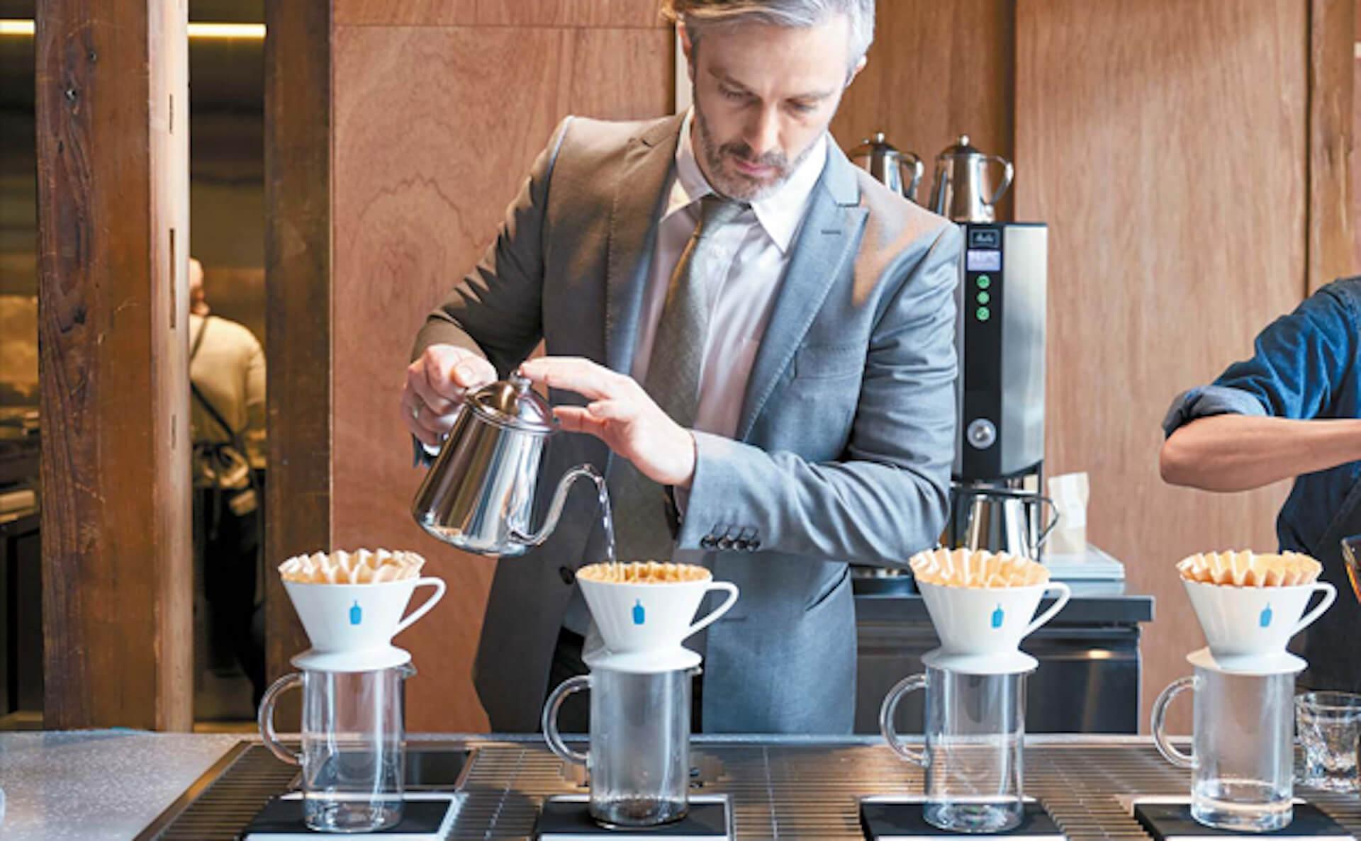 ブルーボトルコーヒー清澄白河フラッグシップカフェがオープン 初日には、世界バリスタチャンピオンのマイケル・フィリップスがドリンク提供 sub4