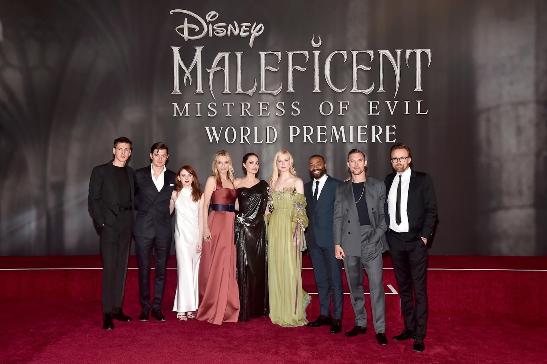 アンジー「私達はクレイジーな大家族」エル・ファニングにミシェル・ファイファーも登場『マレフィセント2』ワールドプレミアが開催 film191002_maleficent2_main