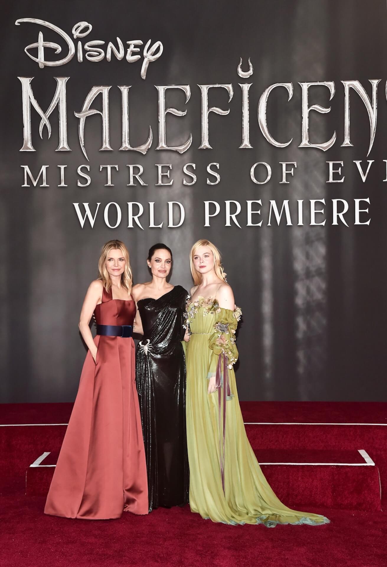 アンジー「私達はクレイジーな大家族」エル・ファニングにミシェル・ファイファーも登場『マレフィセント2』ワールドプレミアが開催 film191002_maleficent2_1
