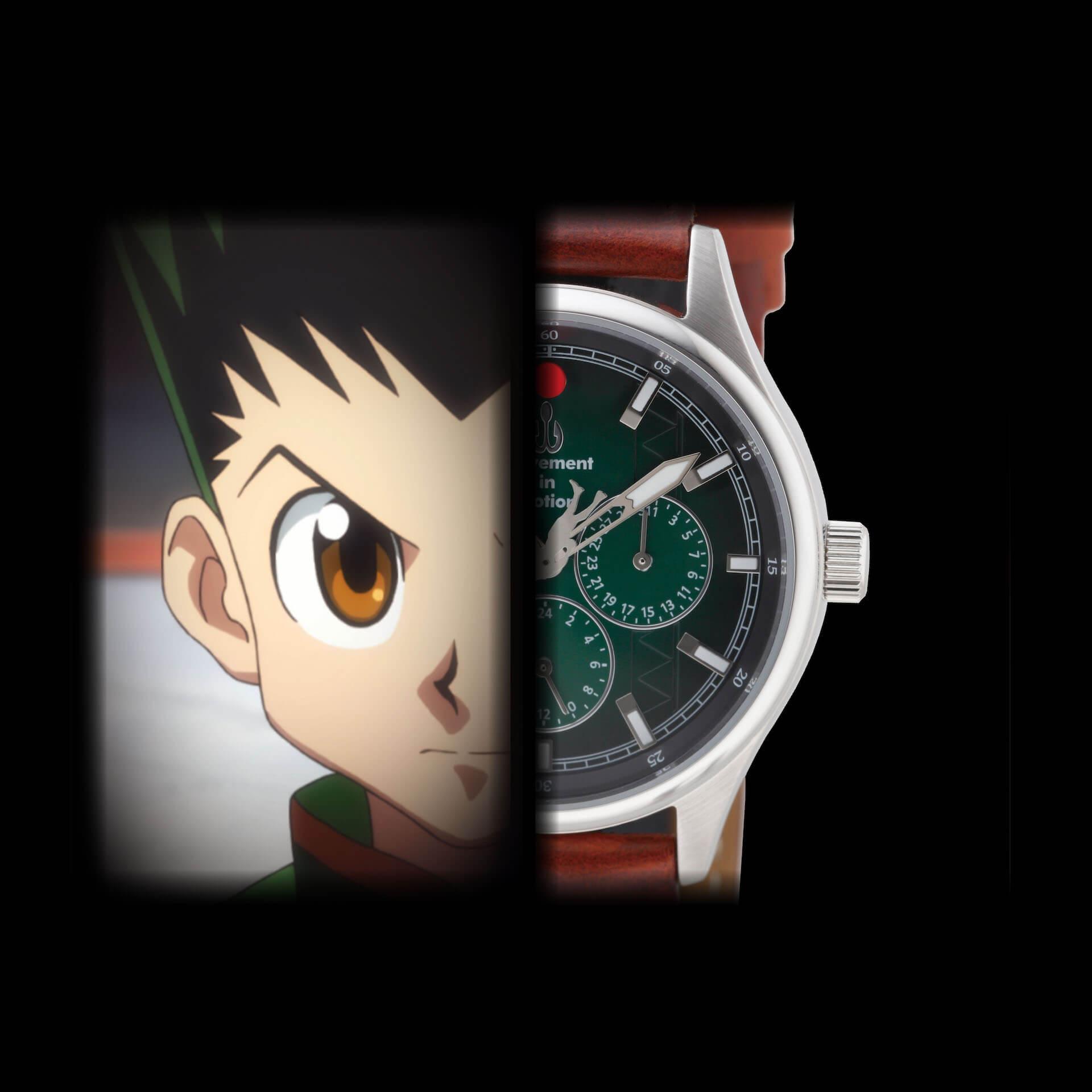 HUNTER×HUNTERとTiCTACの初コラボレーション腕時計が登場|ゴンやヒソカたち、人気キャラクターを表現 sub1-2