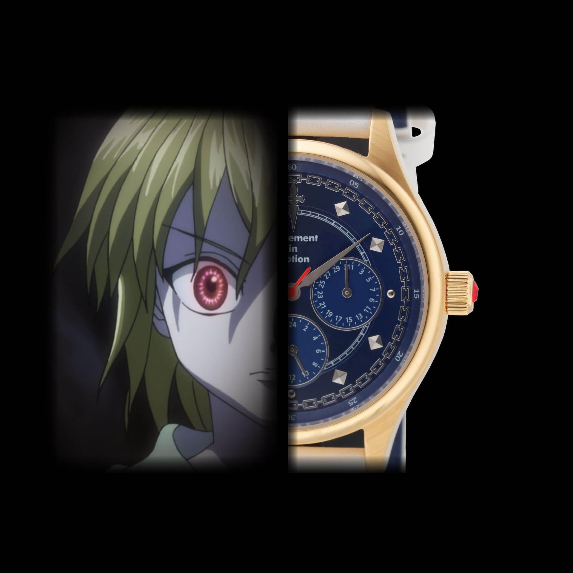 HUNTER×HUNTERとTiCTACの初コラボレーション腕時計が登場|ゴンやヒソカたち、人気キャラクターを表現 sub3-2