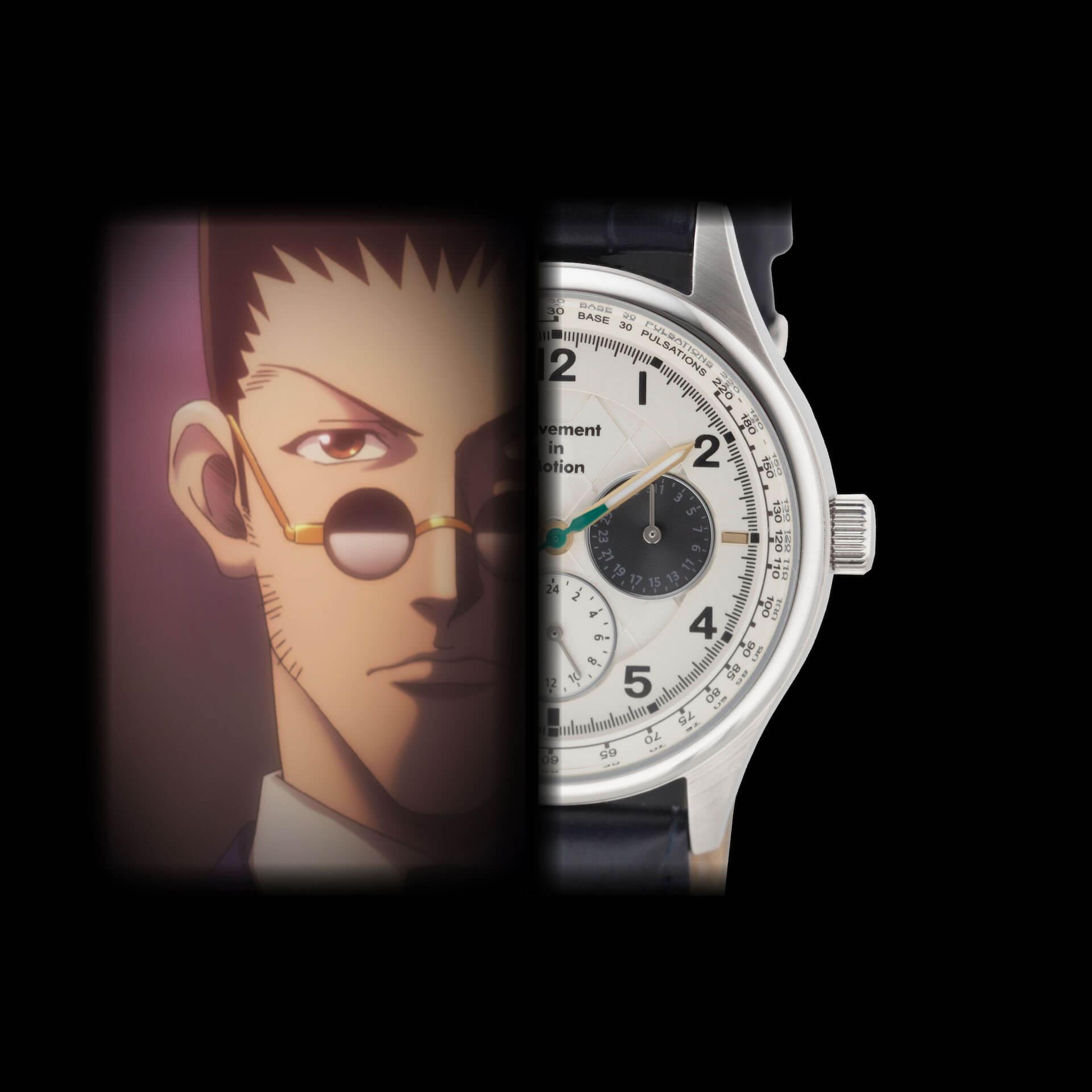 HUNTER×HUNTERとTiCTACの初コラボレーション腕時計が登場|ゴンやヒソカたち、人気キャラクターを表現 sub4-2
