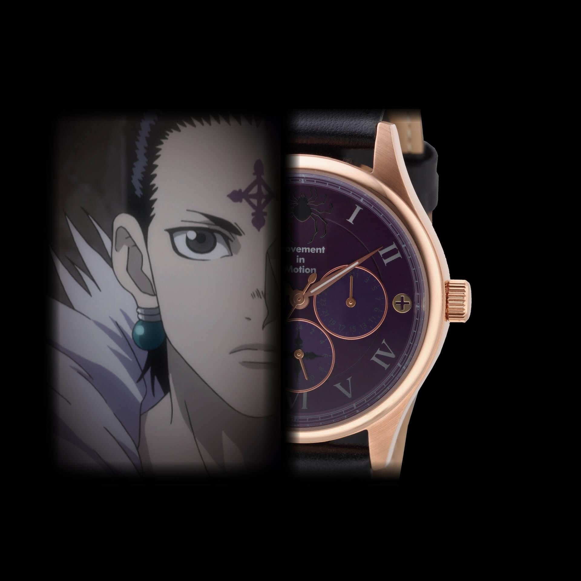 HUNTER×HUNTERとTiCTACの初コラボレーション腕時計が登場|ゴンやヒソカたち、人気キャラクターを表現 sub5-1