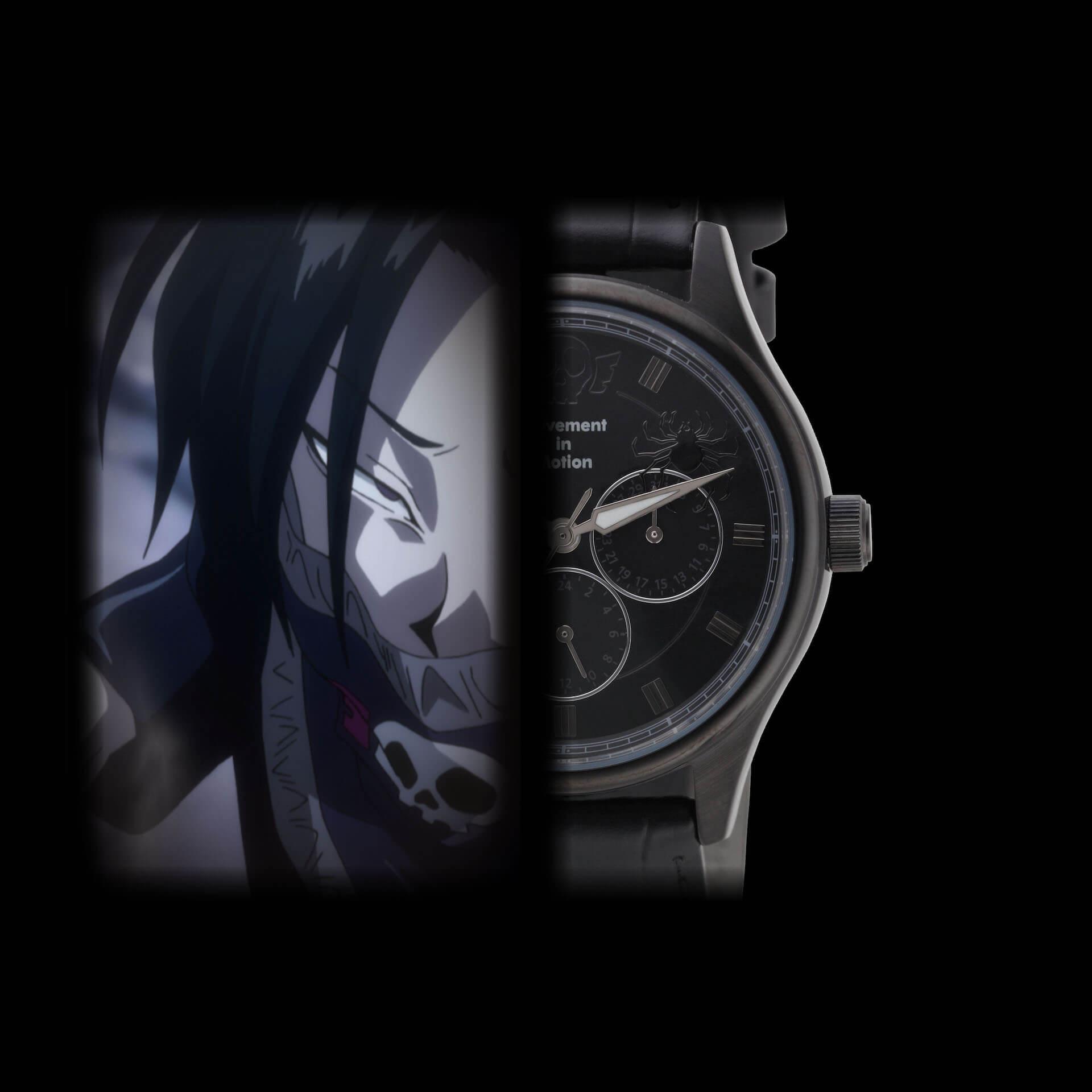 HUNTER×HUNTERとTiCTACの初コラボレーション腕時計が登場|ゴンやヒソカたち、人気キャラクターを表現 sub7-1
