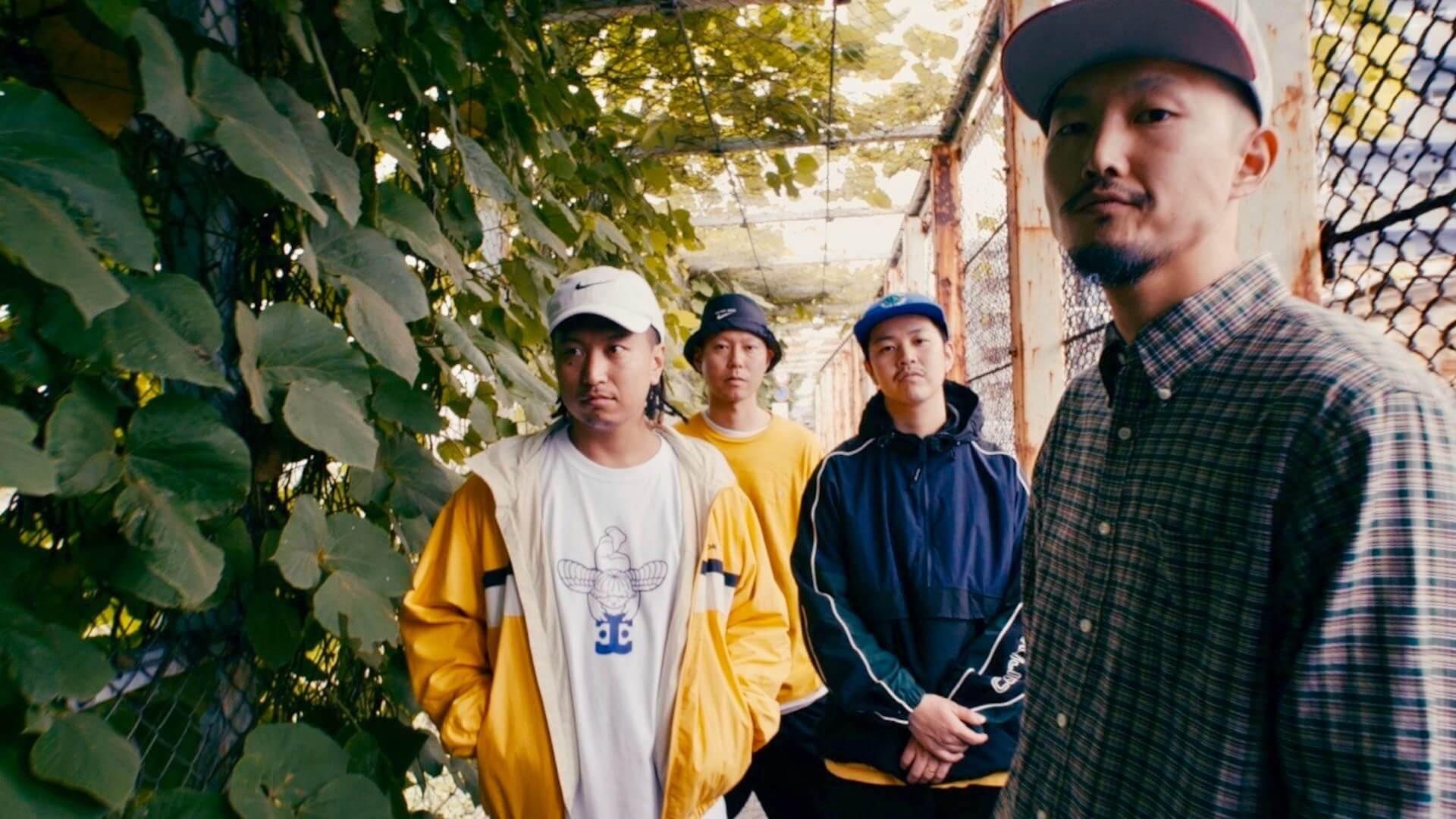 JUMANJI、1stアルバム「DAWN」を11月にリリース 仙人掌、GAMEBOYS&VOLOJZA、HIT、jjj、FEBBらが参加 music191006-jumanji