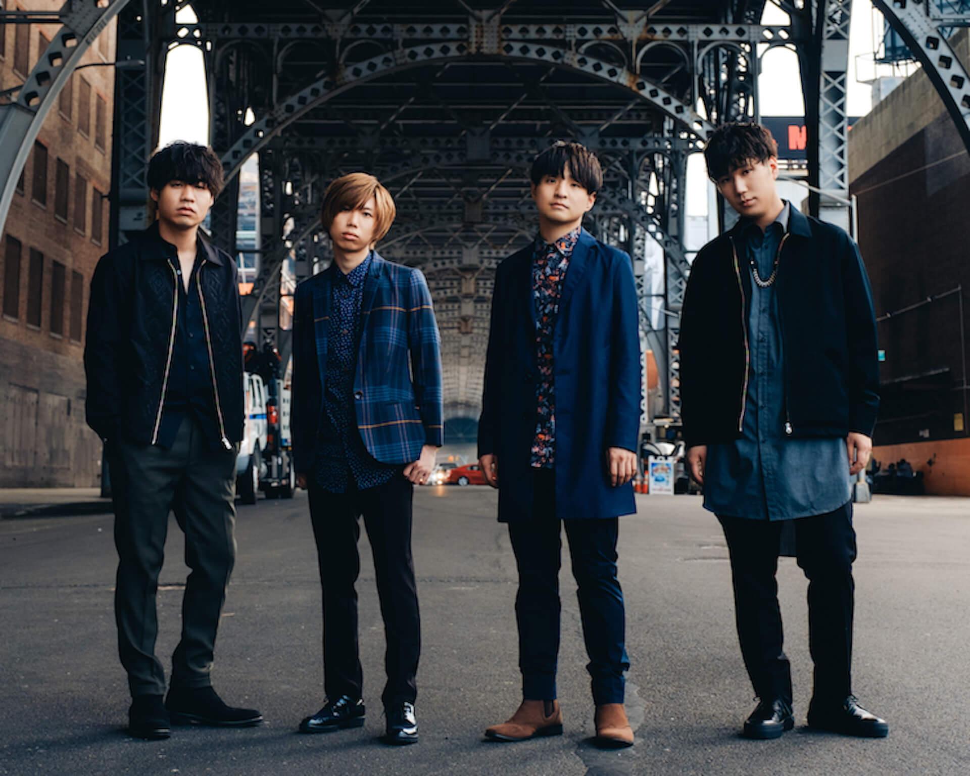 Official髭男dismが渋谷をジャック!『Traveler』発売記念、ジャックポスターが登場|渋谷某所で未発表曲の解禁も music191007_higedan_1