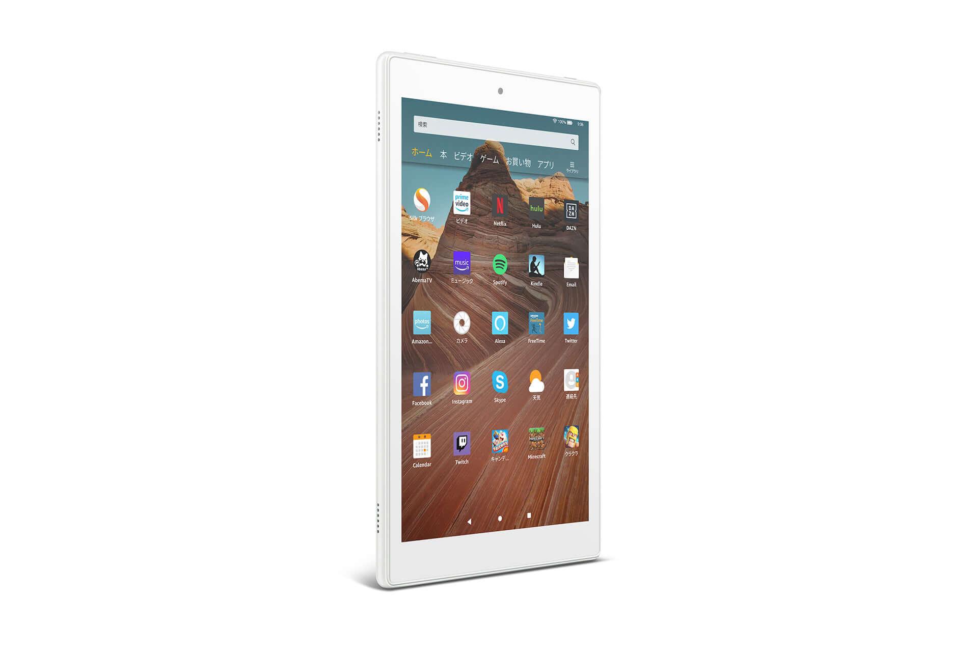 Amazon、大画面10.1インチ、USB Type-C搭載の「Fire HD 10 タブレット」が新登場! tech191008fire-hd-10_01-1920x1280