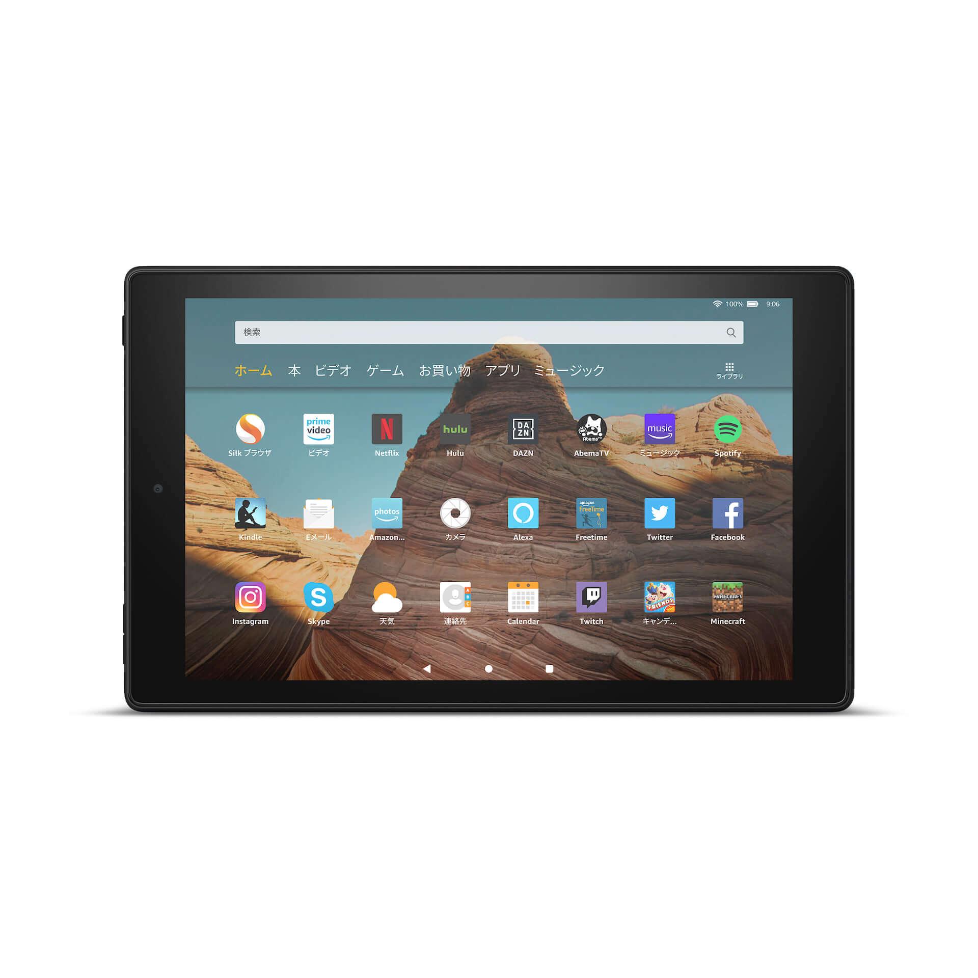 Amazon、大画面10.1インチ、USB Type-C搭載の「Fire HD 10 タブレット」が新登場! tech191008fire-hd-10_02-1920x1920